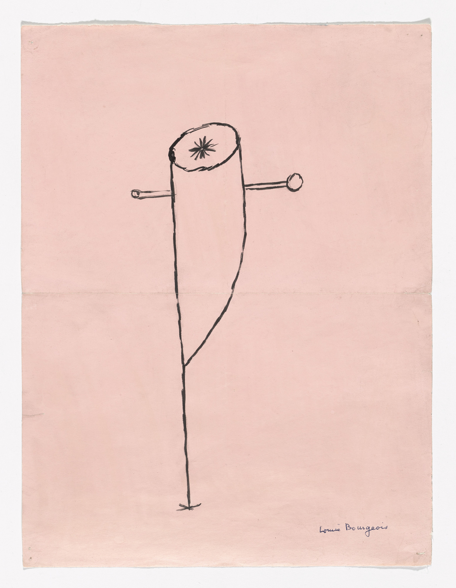 Louise Bourgeois. Untitled. (1947)