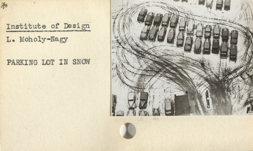Arthur Siegel, Institute of Design. Untitled instructional card. c. 1946