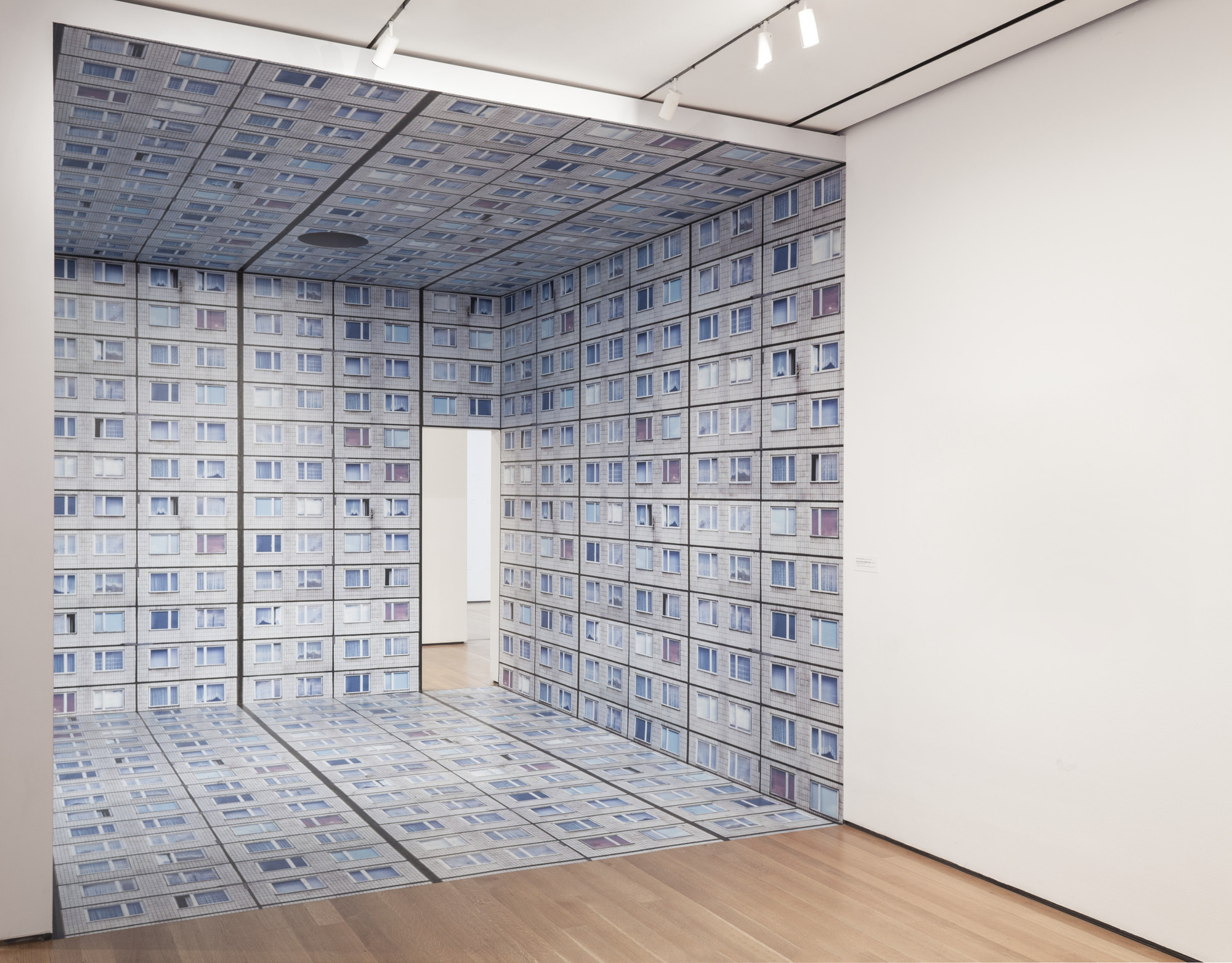 Annett Zinsmeister. Virtual Interior MoMA white. 2007/2015