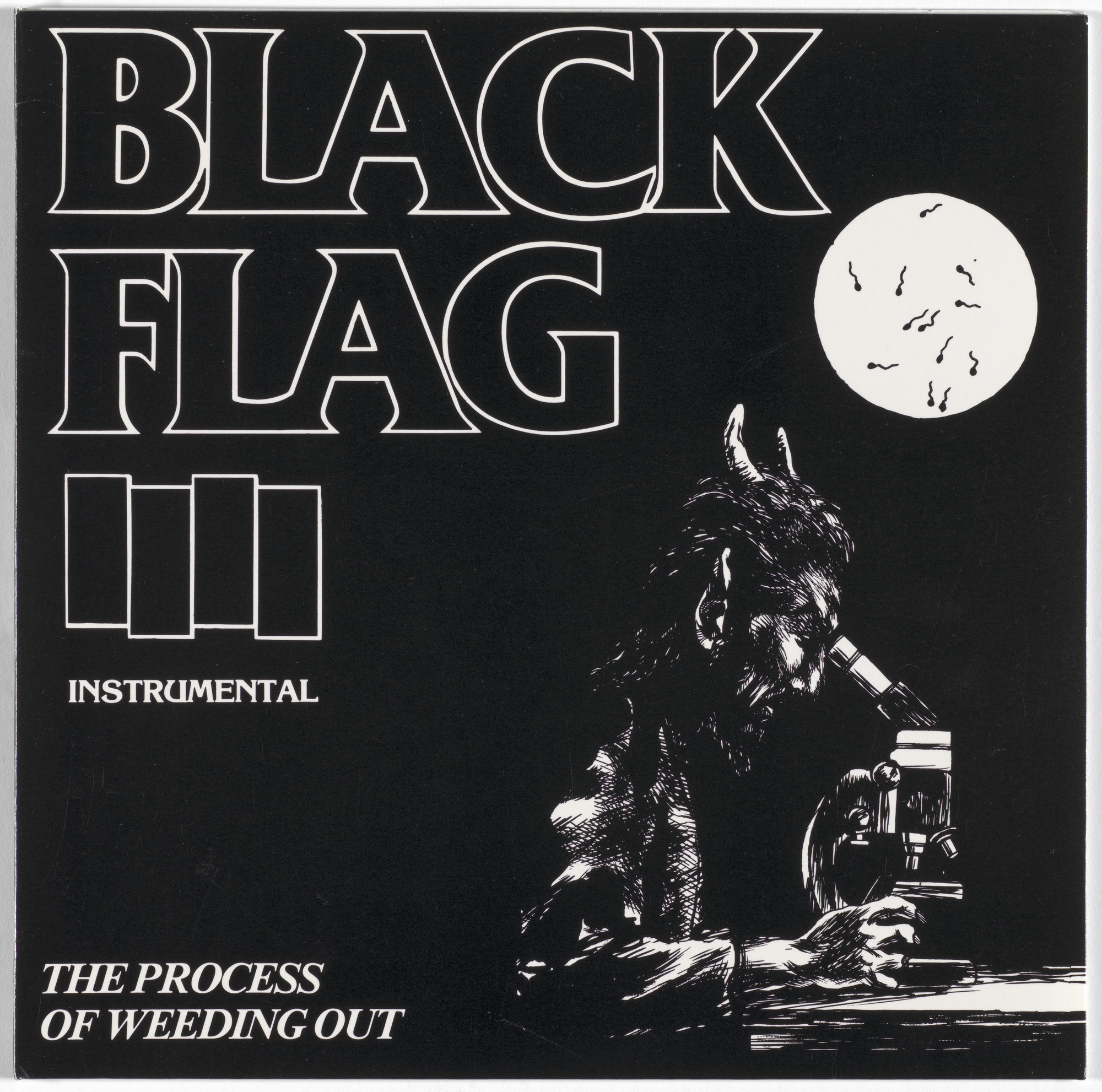 Black Flag, Raymond Pettibon. The Process of Weeding Out. 1985, released 1991
