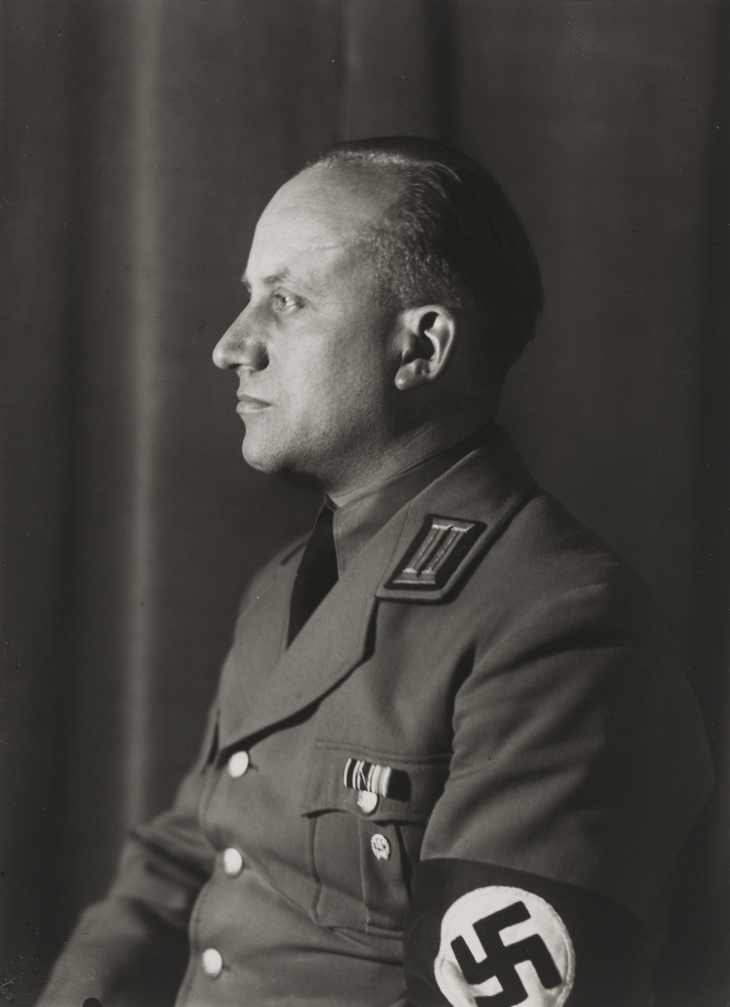 August Sander. National Socialist, Head of Department of Culture. c. 1938