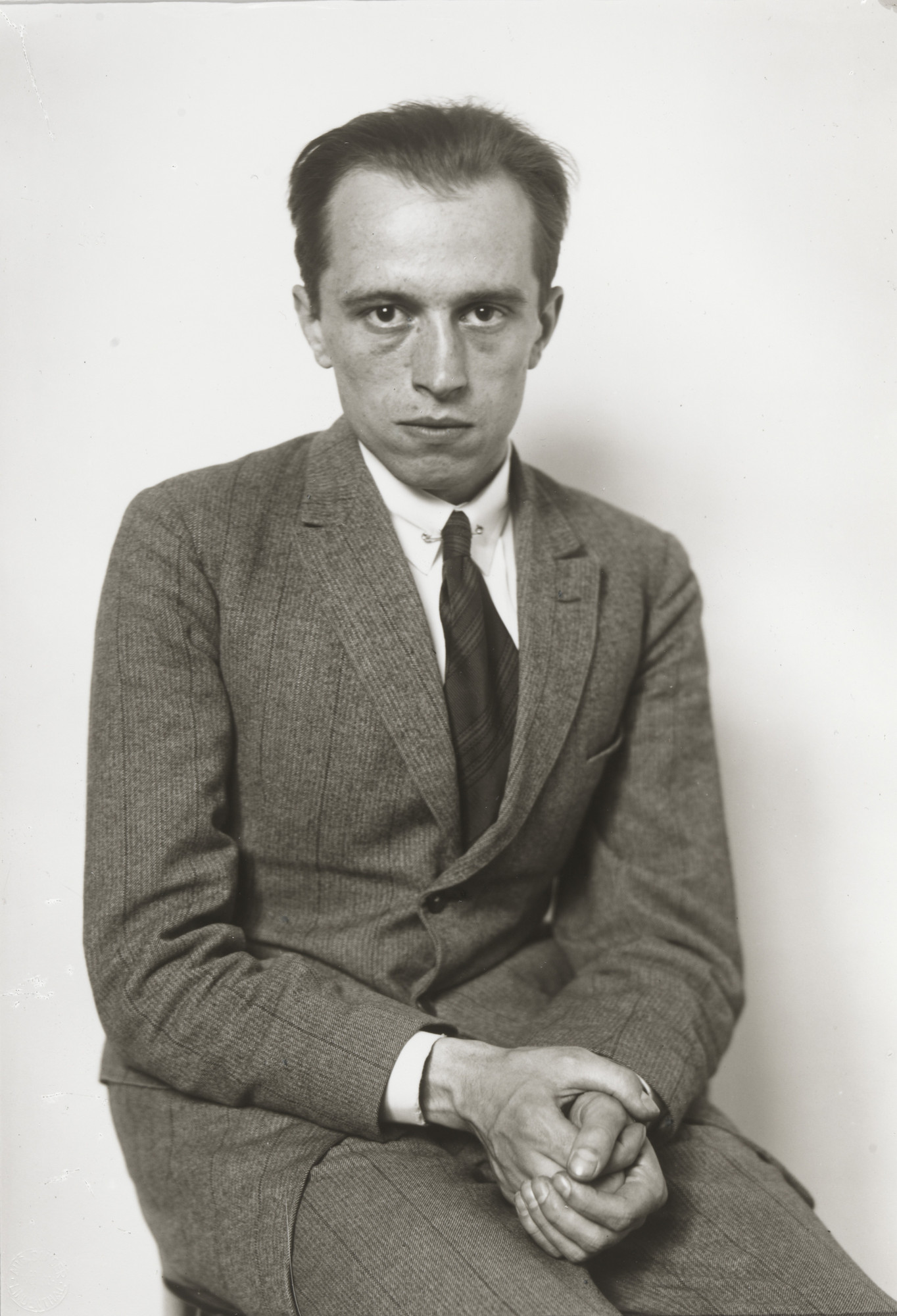 August Sander. Writer and Theater Critic [Theodor Haerten]. 1928