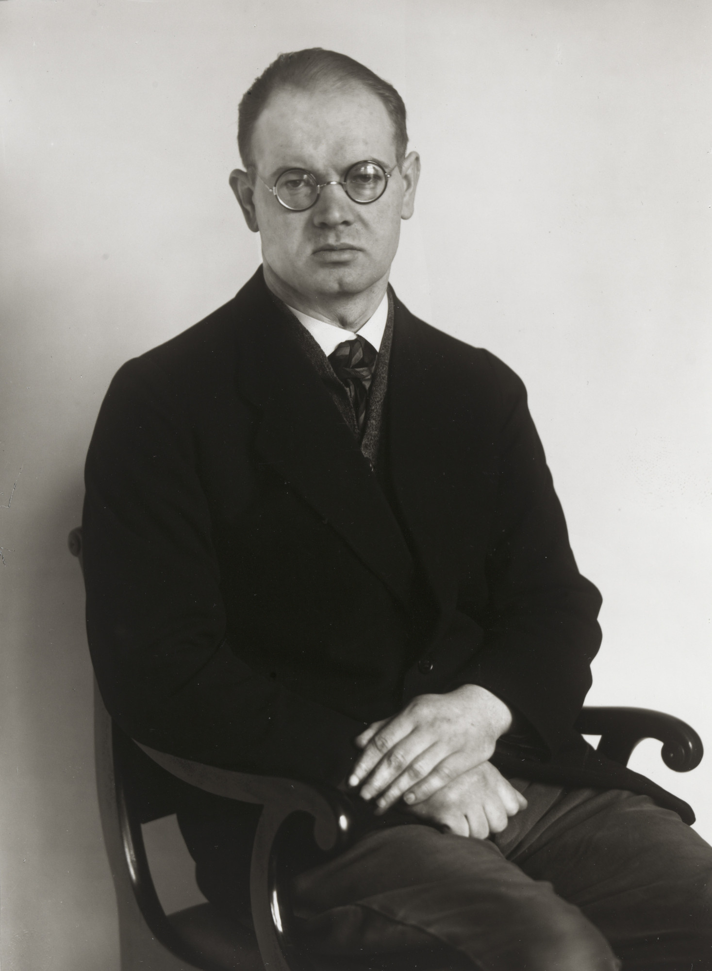 August Sander. Writer and Radio Play Author [Eduard Reinacher]. 1924