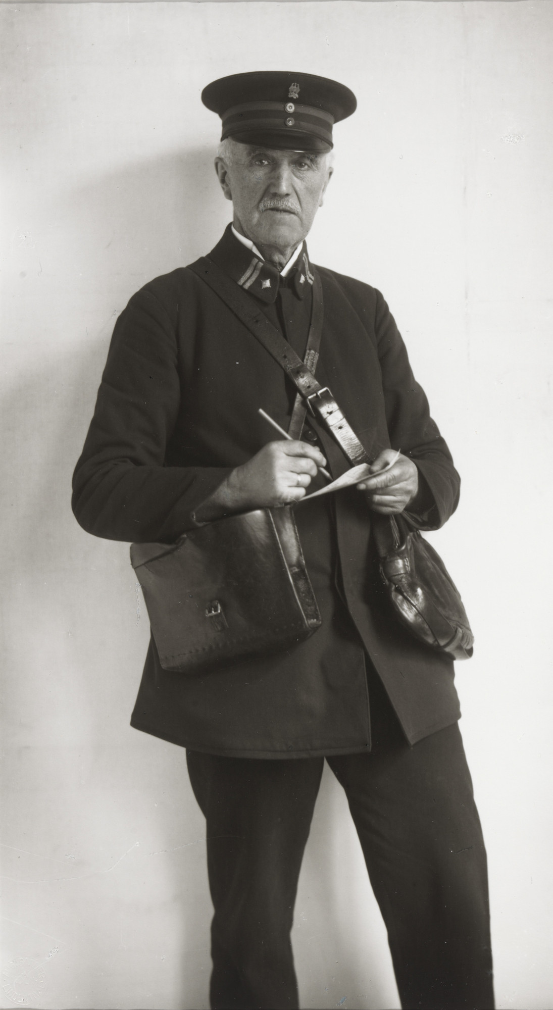 August Sander. Registered Letter Mailman. 1925
