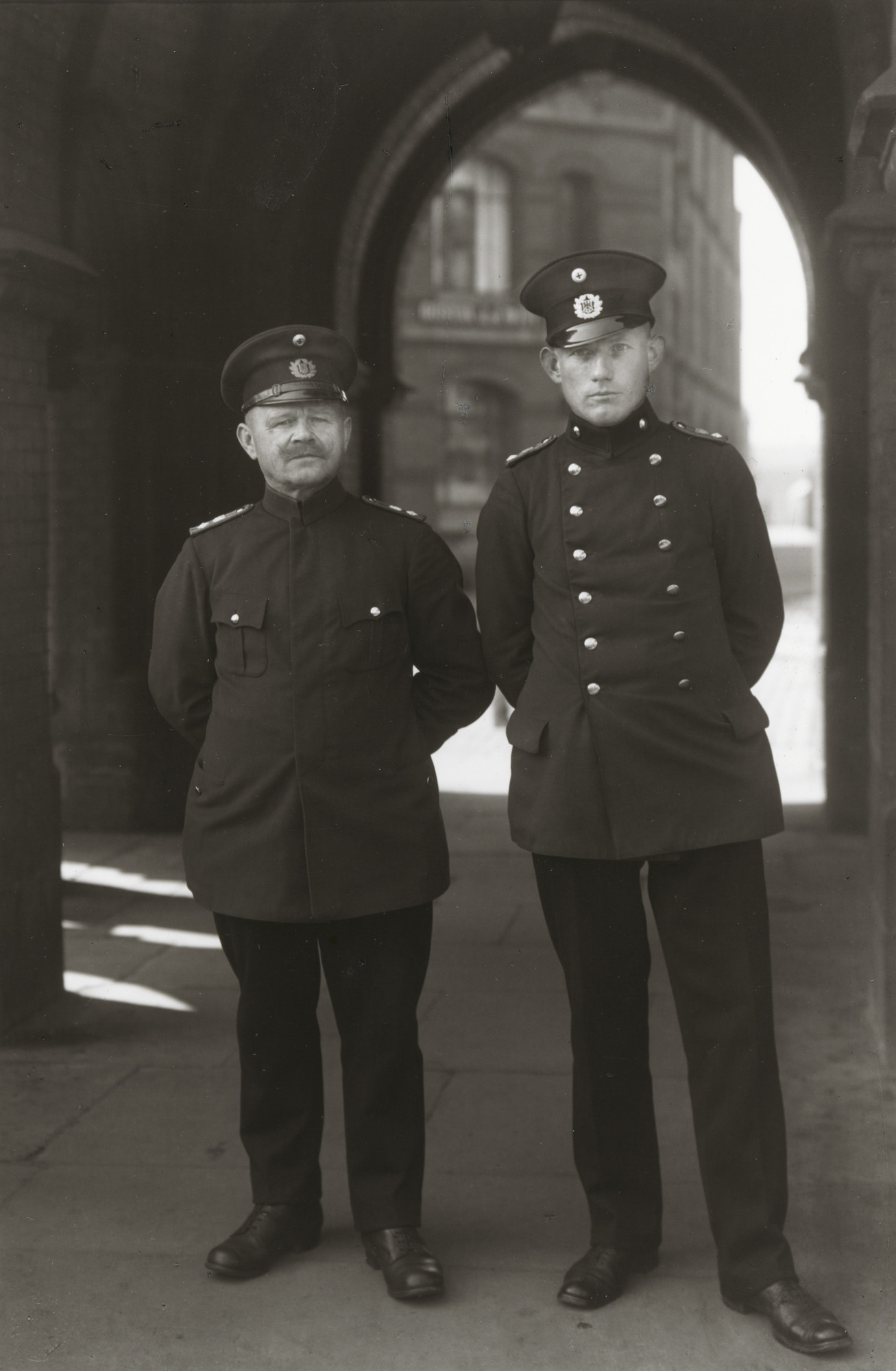 August Sander. Customs Officer. 1929