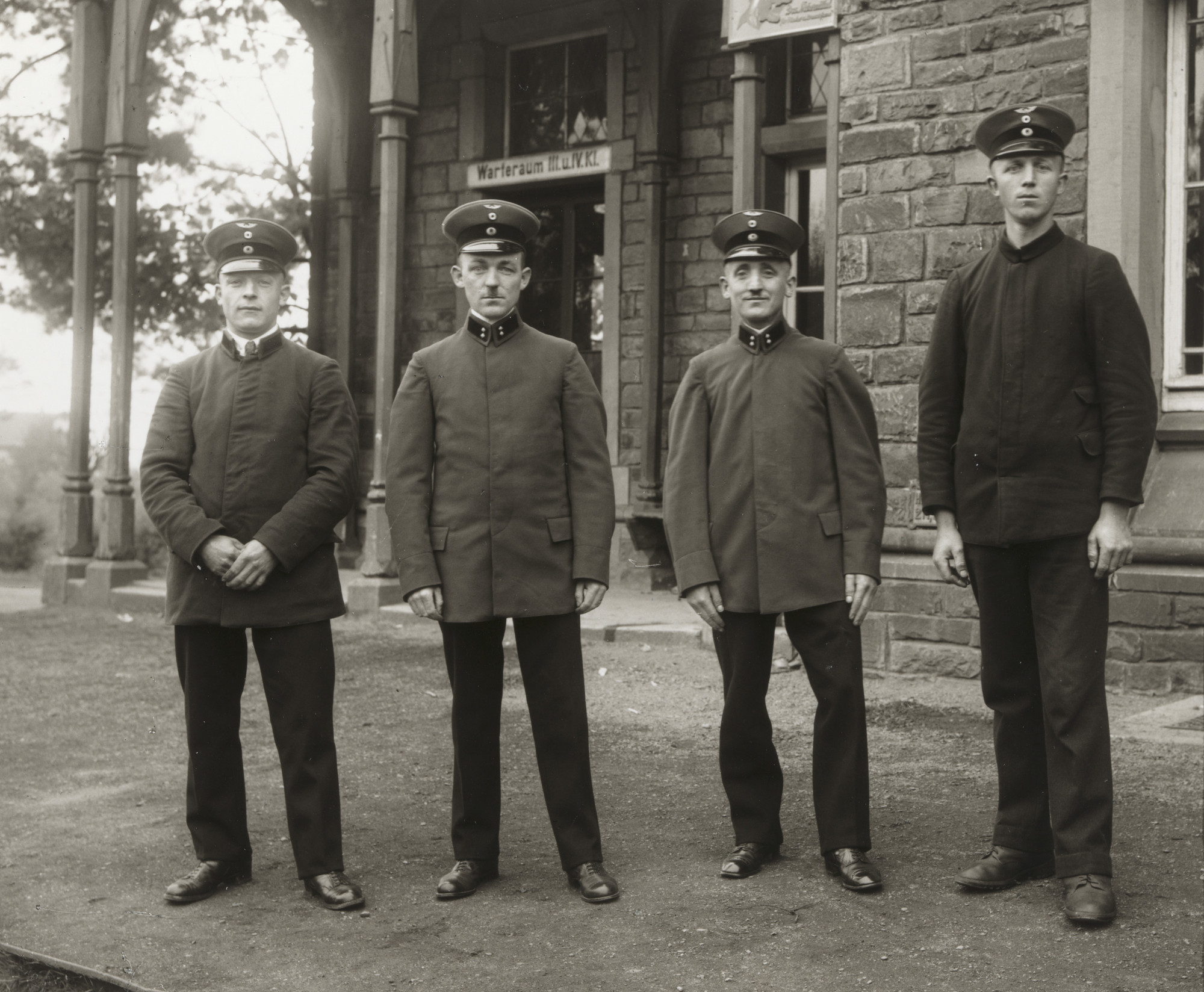 August Sander. Railway Officials. c. 1925