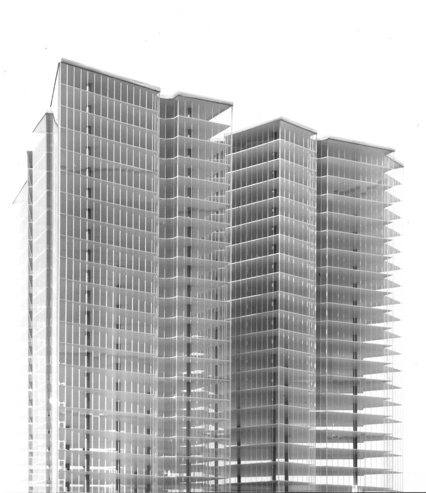 Ludwig Mies Van Der Rohe Friedrichstrasse Skyscraper Project