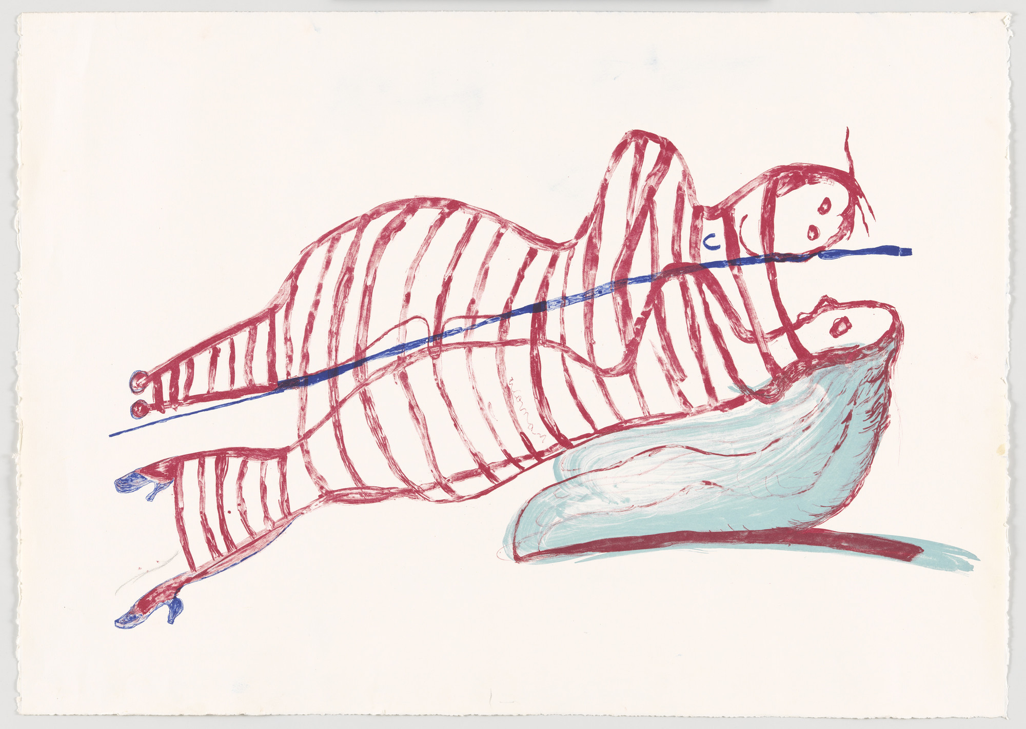 Louise Bourgeois. Hamlet and Ophelia. 1997