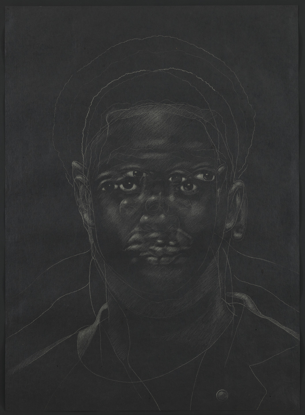 Titus Kaphar. The Jerome Project (Asphalt and Chalk) XV. 2015