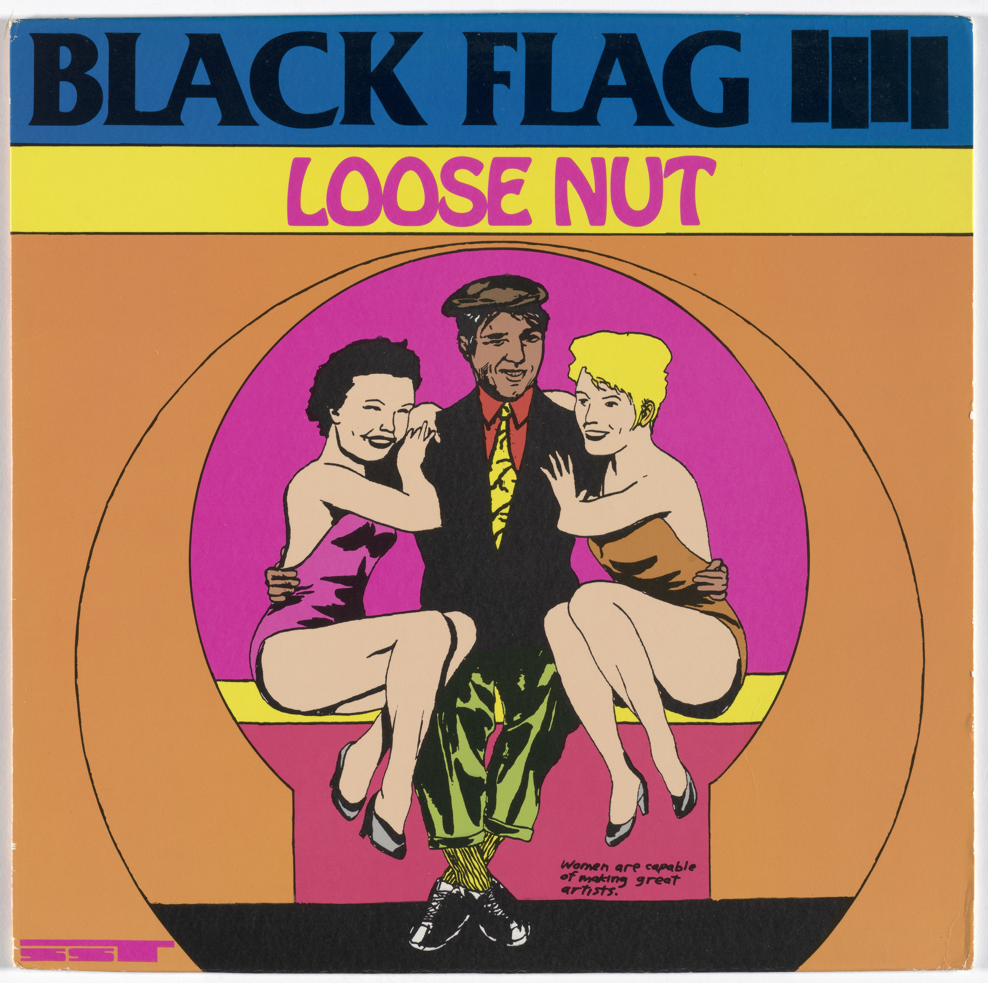 Black Flag, Raymond Pettibon. Loose Nut. 1985