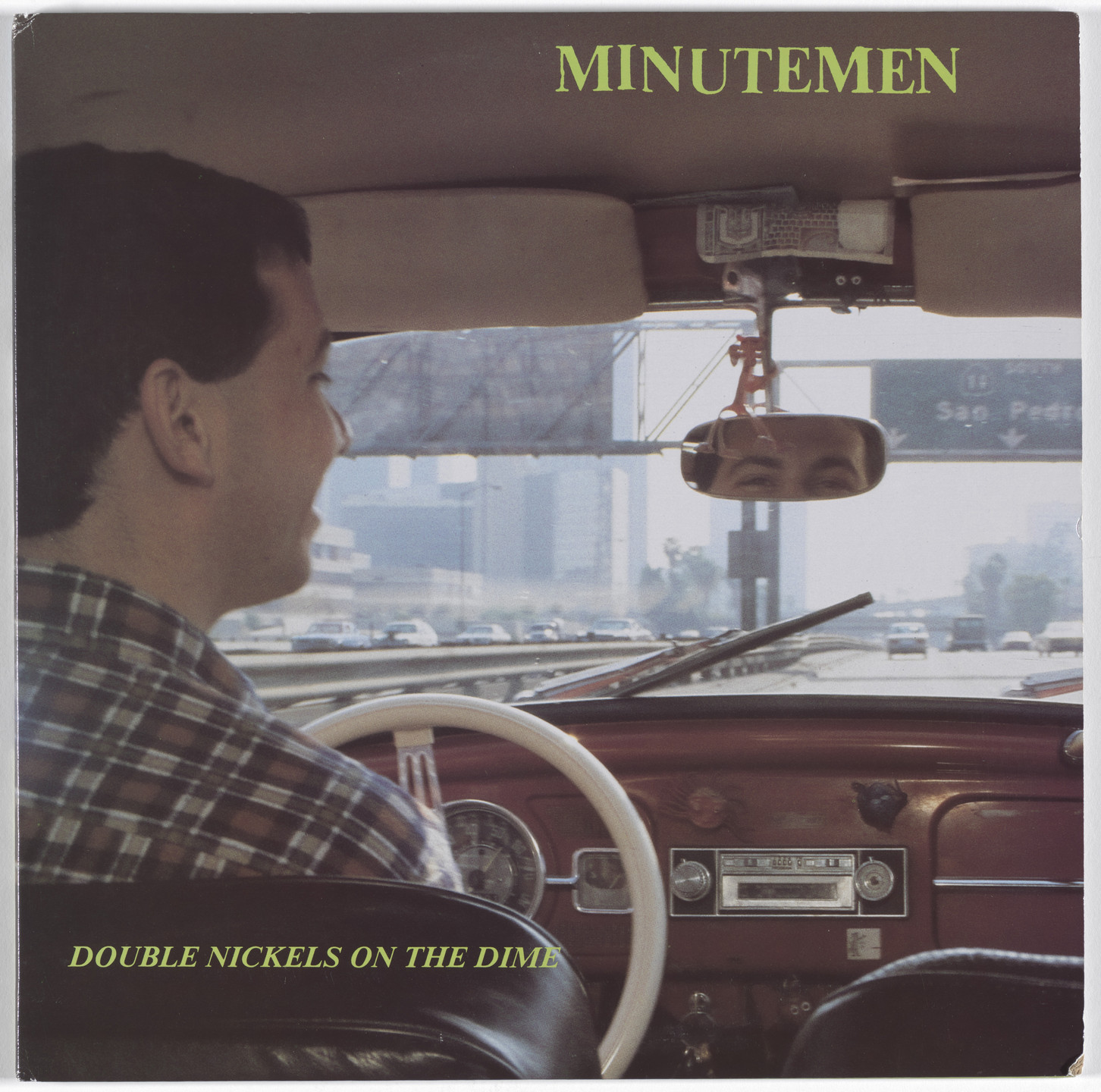 Minutemen, Raymond Pettibon. Double Nickles on the Dime. 1984