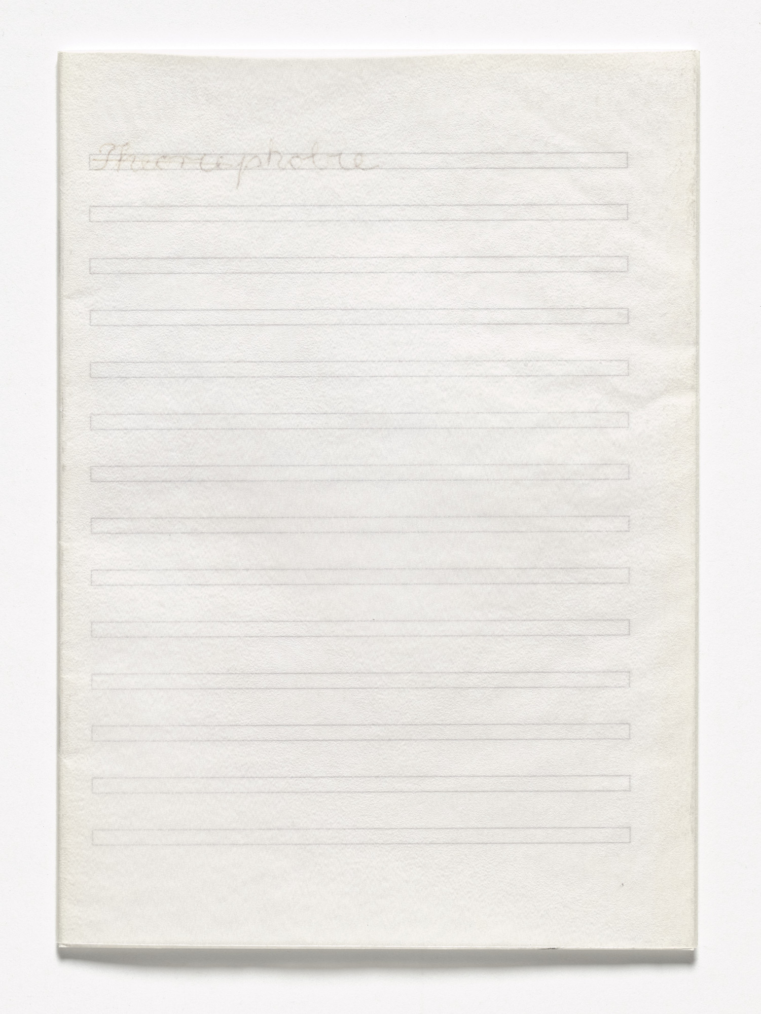 Rosemarie Trockel. Book Drafts. 1978–2003