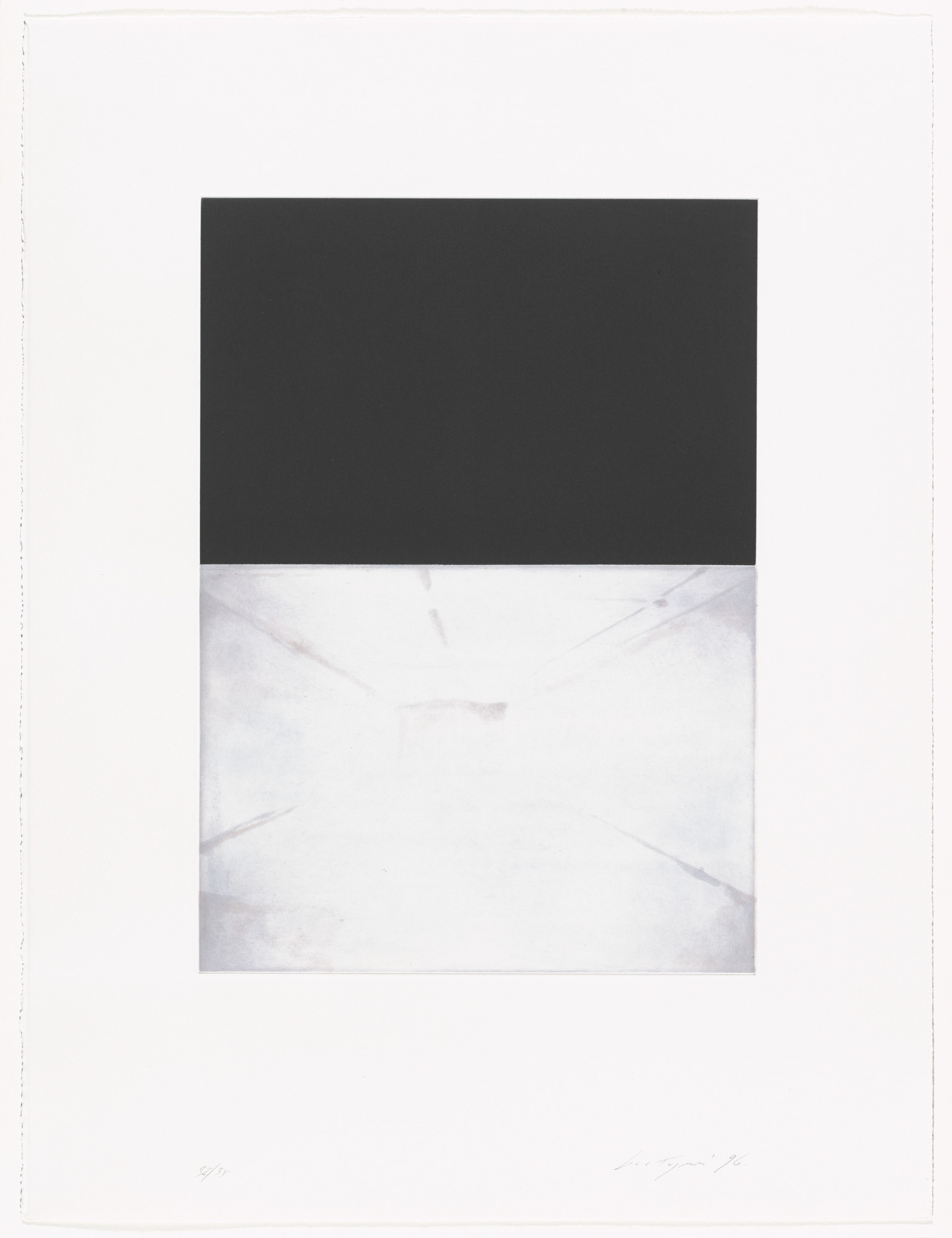 Luc Tuymans. Untitled from The Temple. 1996