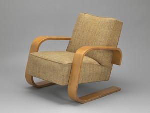 Armchair (model 400) (Cantilevered armchair)