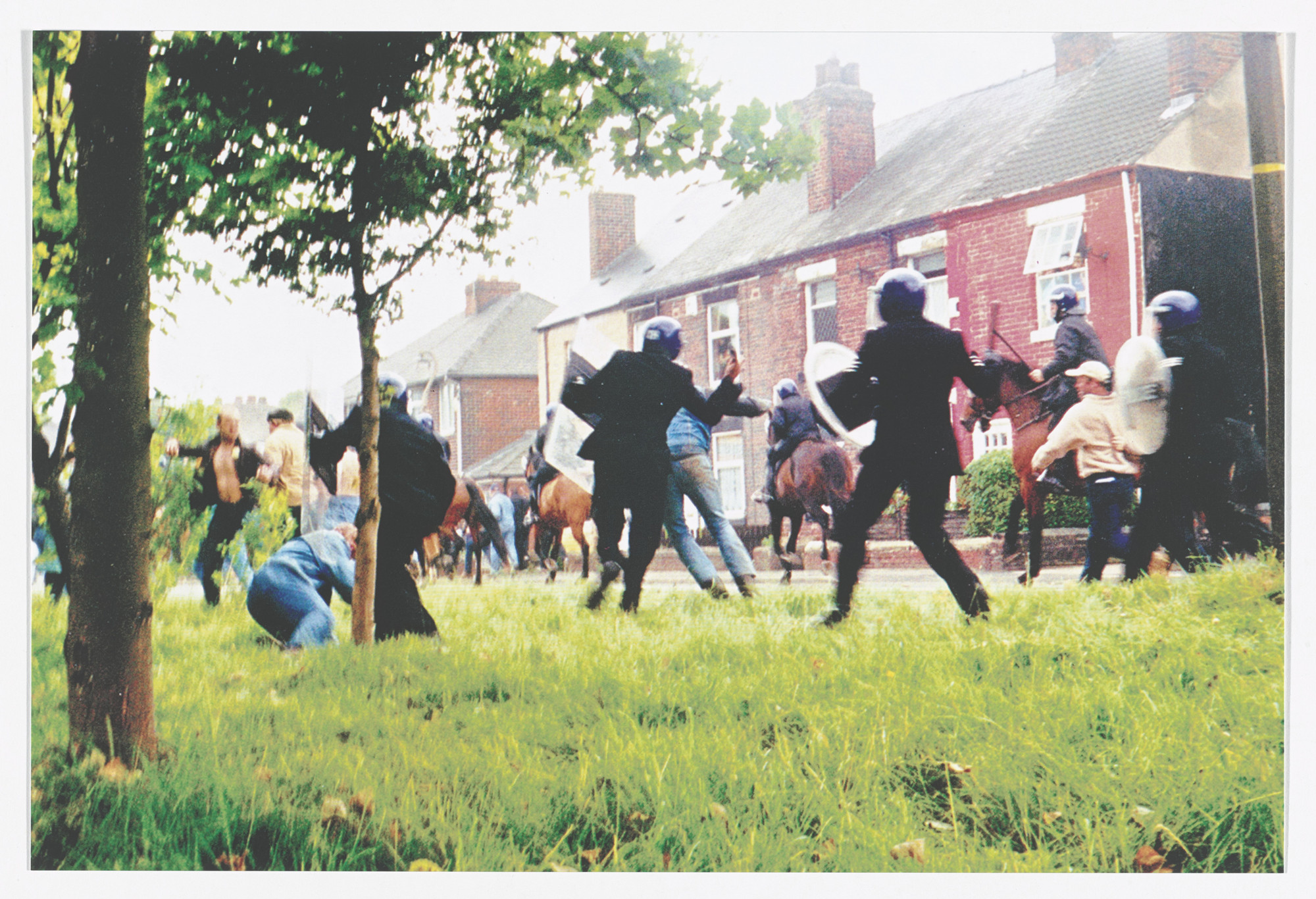 Jeremy Deller  Battle of Orgreave, 2001 from Odds and Sods (for