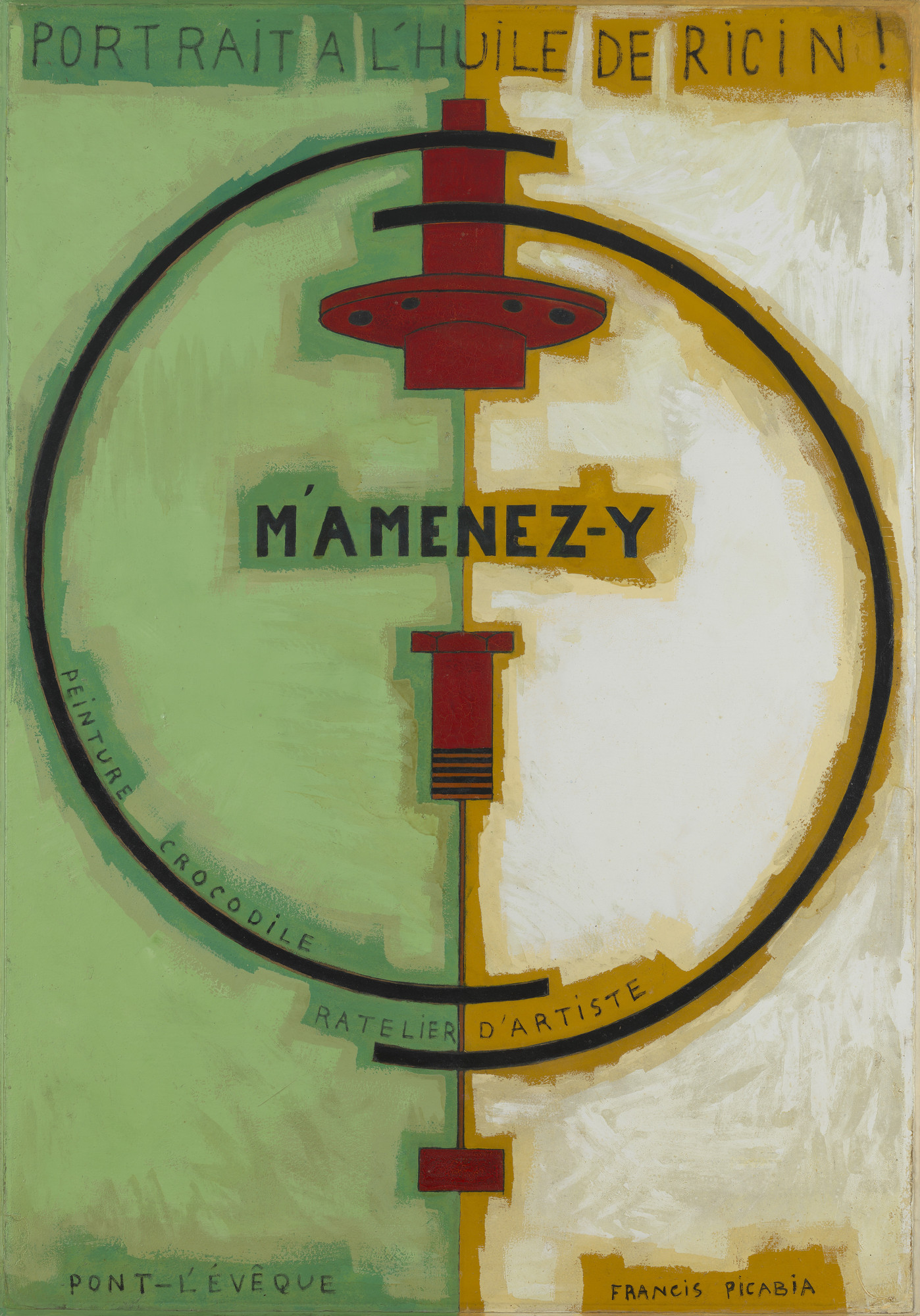 "Francis Picabia. ""M'Amenez-y"". Paris, November 1919 - January 1920"