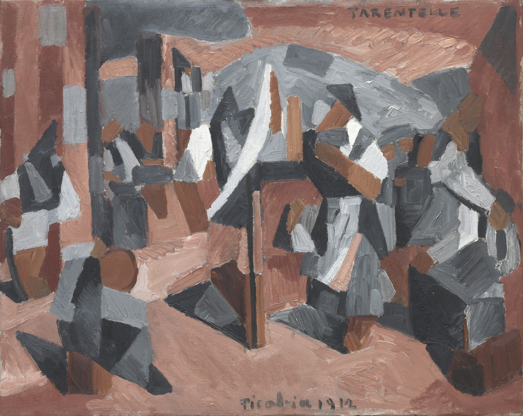 Francis Picabia. Tarentelle. Paris, January - early June 1912