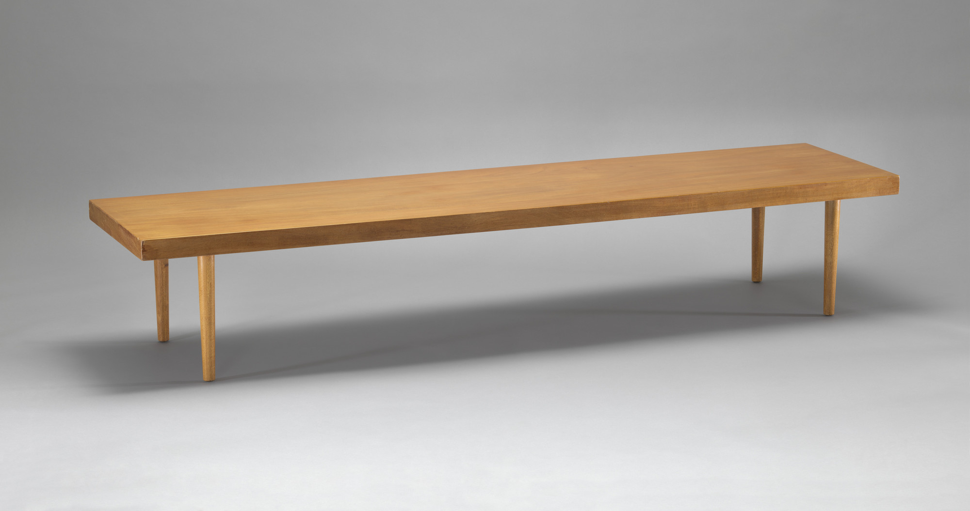 Charles Eames, Eero Saarinen. Bench/Base for Storage Units. 1940