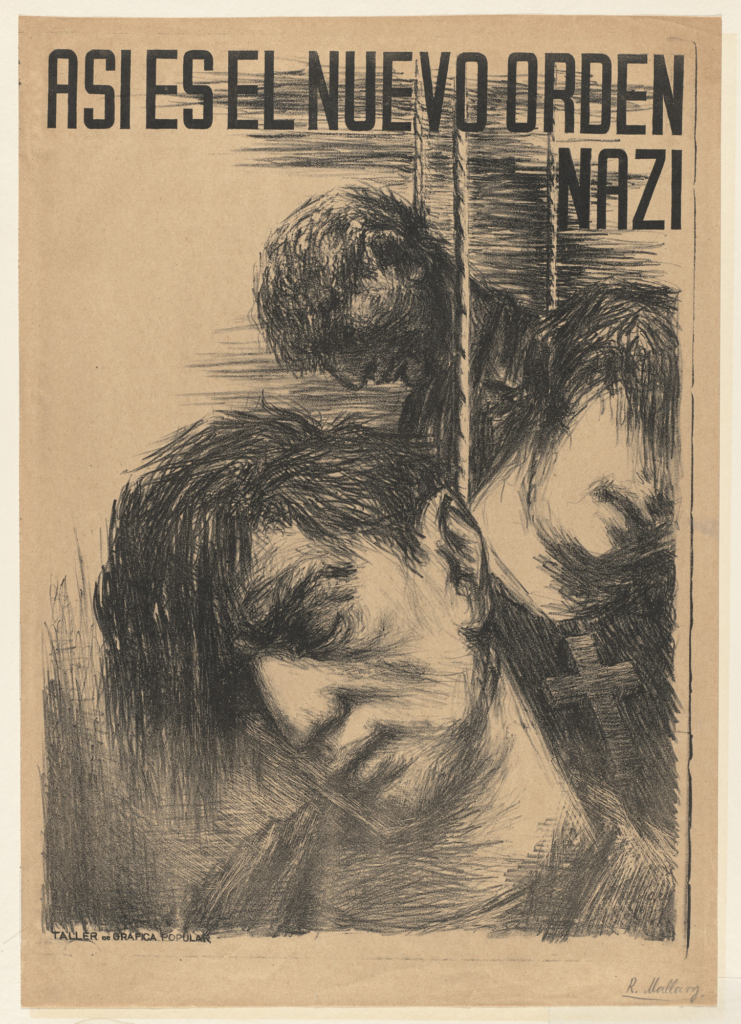 Robert Mallary. This is the New Nazi Regime (Asi es el nuevo orden Nazi). 1942