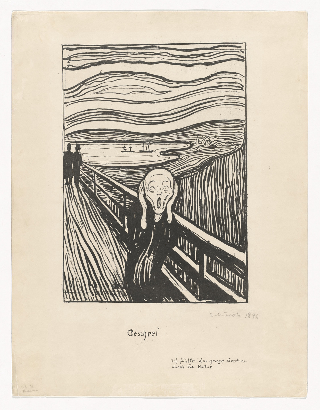Edvard Munch. The Scream. 1895; signed 1896