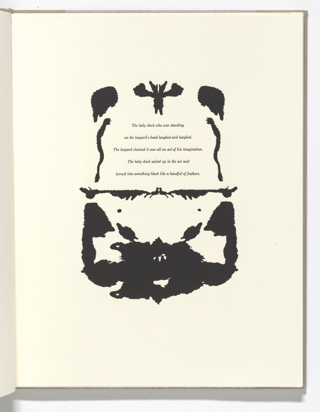 Bruce Conner. In-text plate (folio 8) from The Adventures of a Novel in Four Chapters. 1991