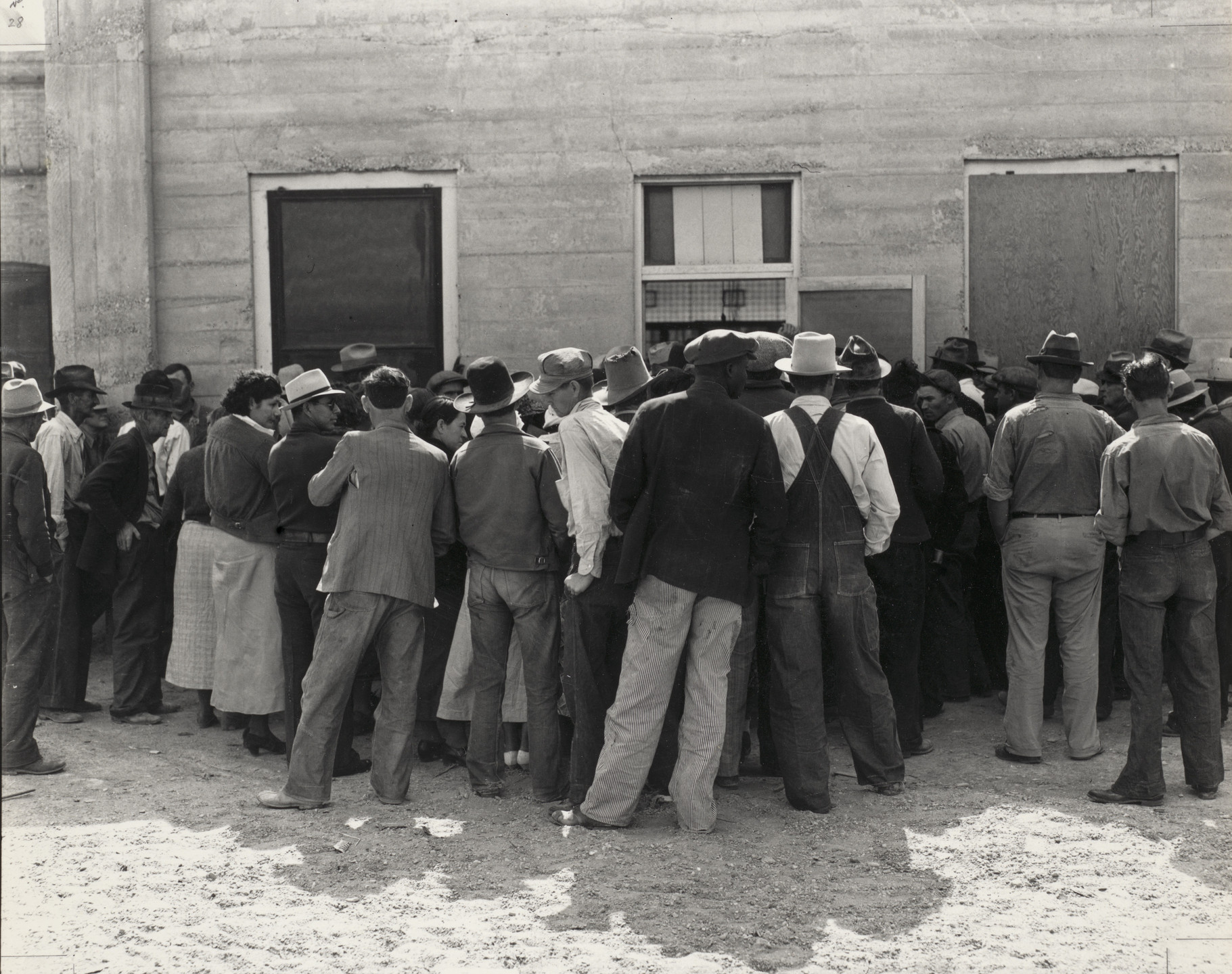 Dorothea Lange. Calipatria, California. February 1937