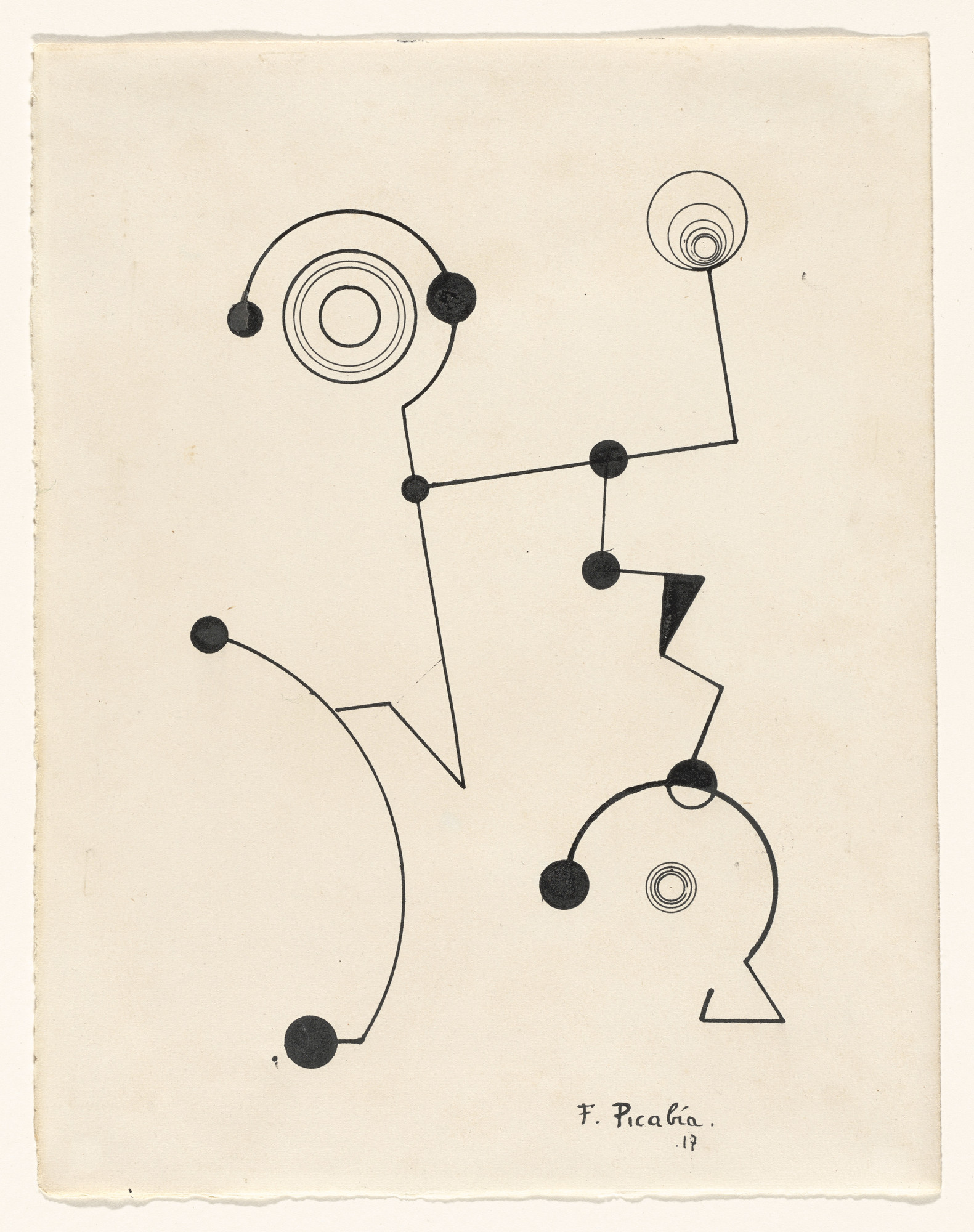 Francis Picabia. Untitled. 1917