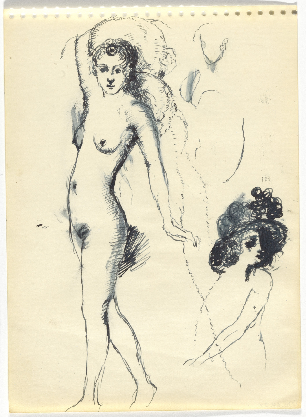 Paul Delvaux. Sketchbook. (c. 1939-44)