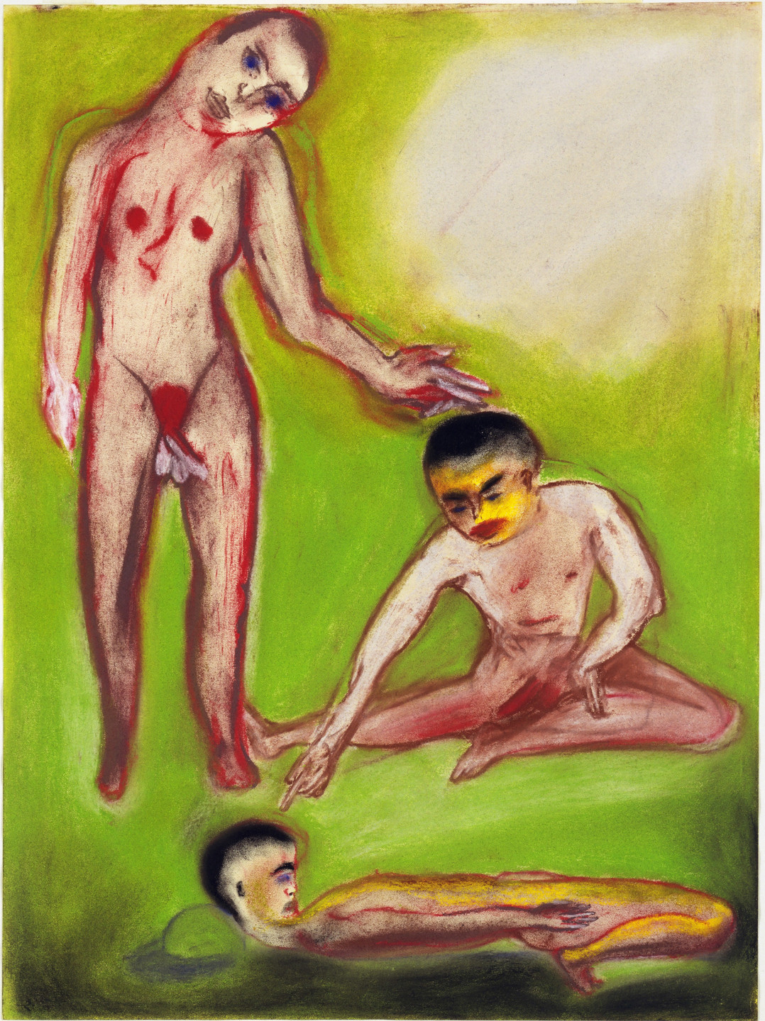 Francesco Clemente. Untitled. (n.d.)