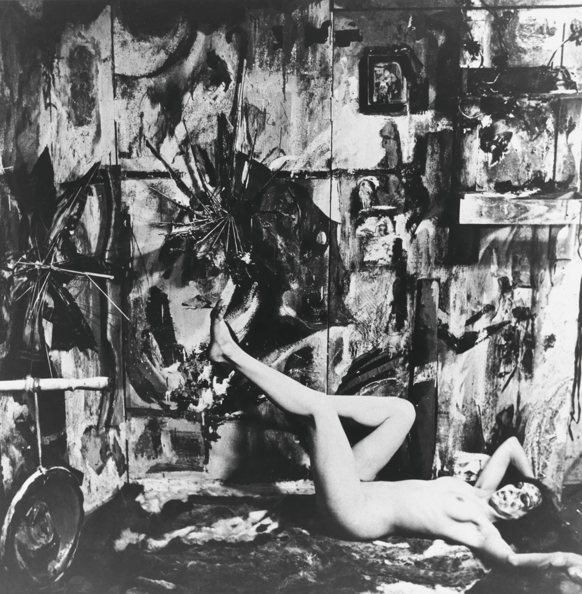 Carolee Schneemann. Eye Body #1 from Eye Body: 36 Transformative Actions for Camera. 1963