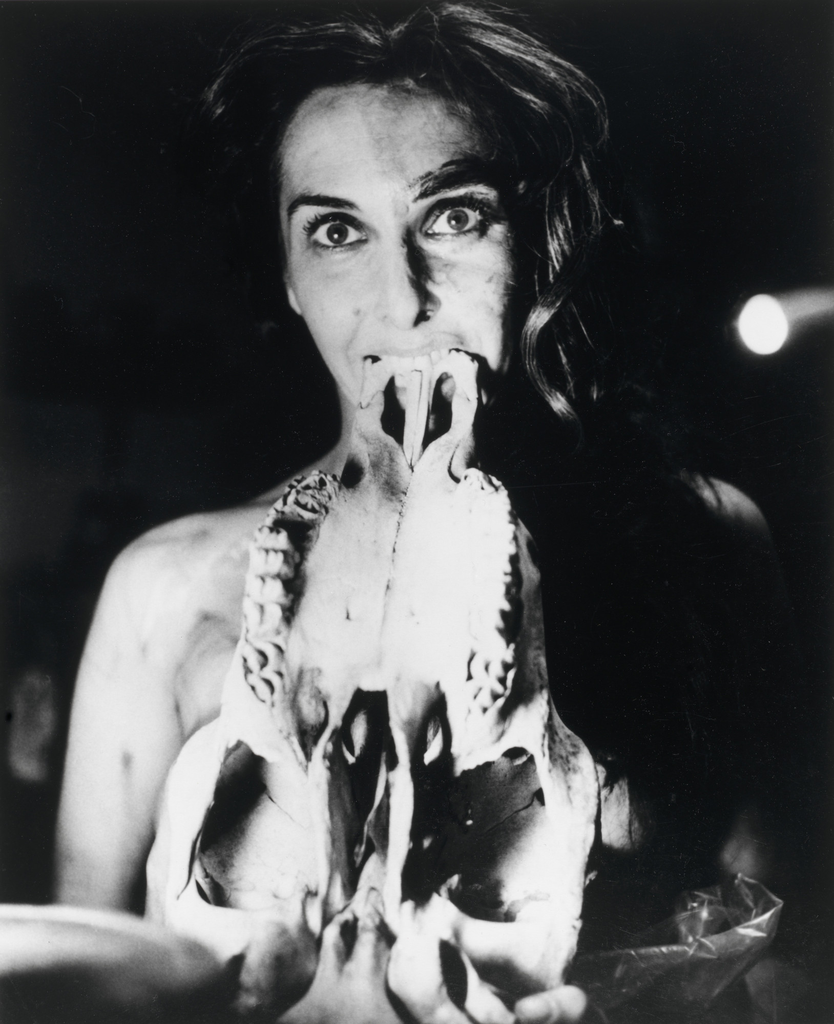 Carolee Schneemann. Eye Body #26 from Eye Body: 36 Transformative Actions for Camera. 1963