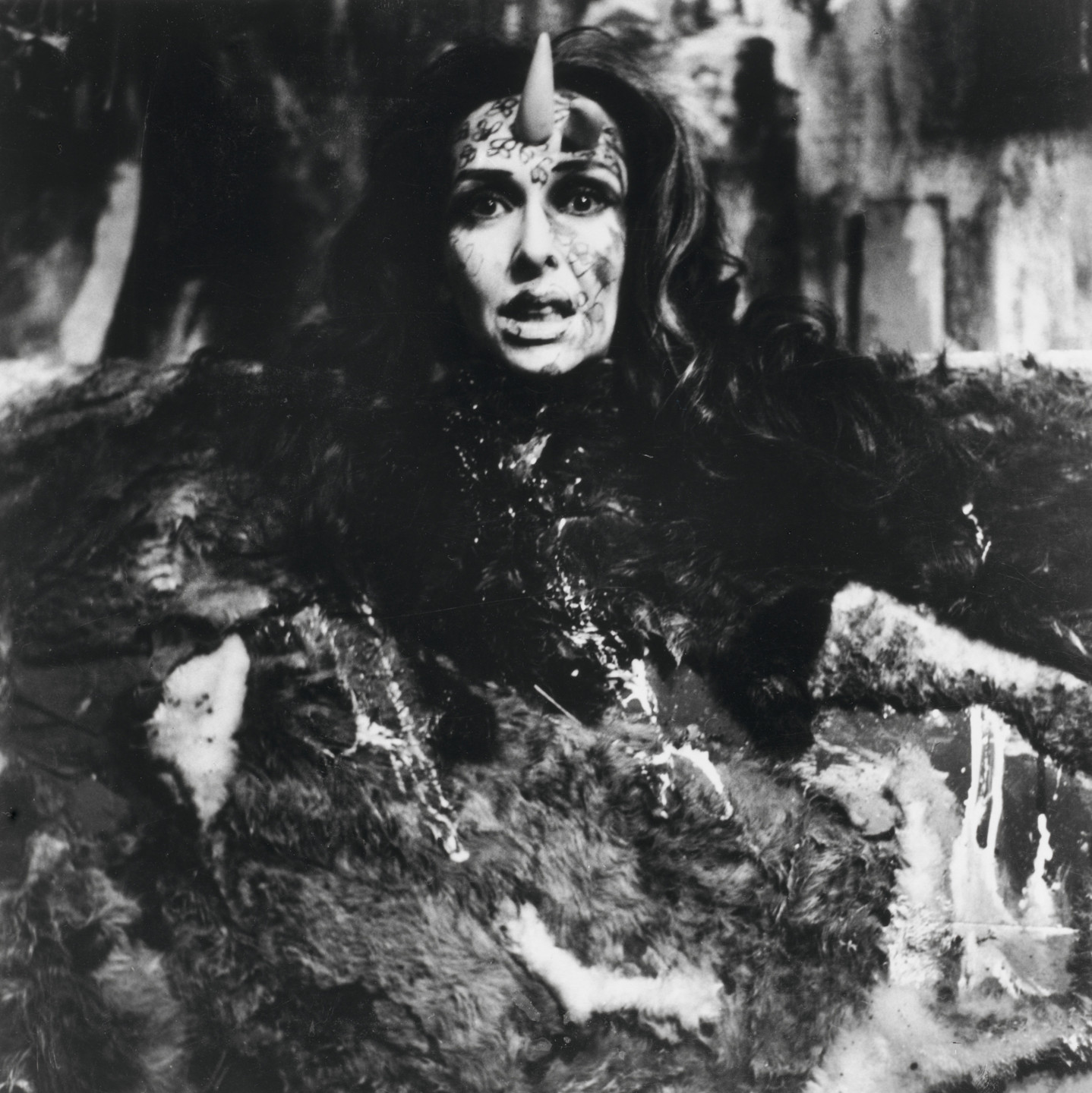Carolee Schneemann. Eye Body #20 from Eye Body: 36 Transformative Actions for Camera. 1963