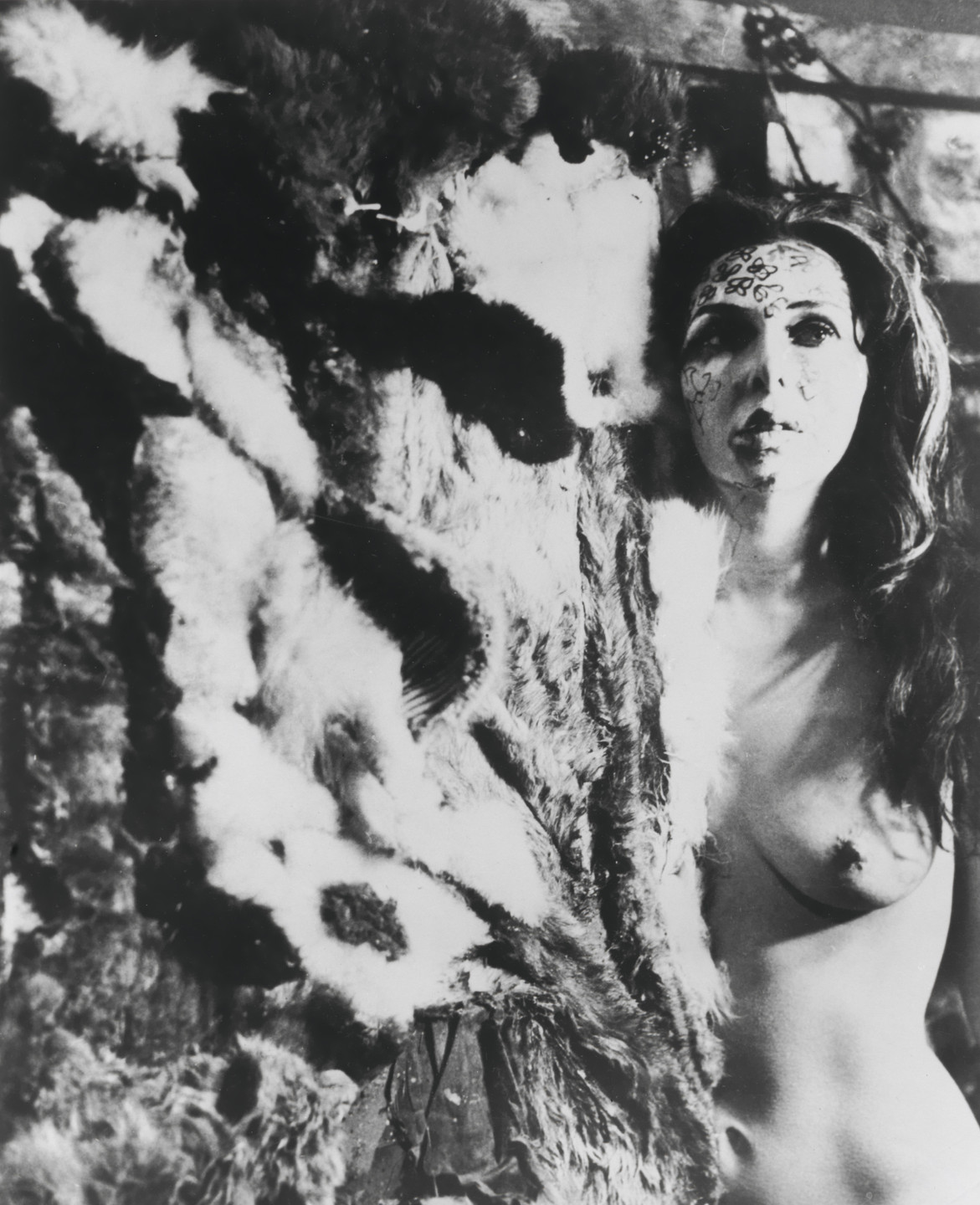 Carolee Schneemann. Eye Body #13 from Eye Body: 36 Transformative Actions for Camera. 1963