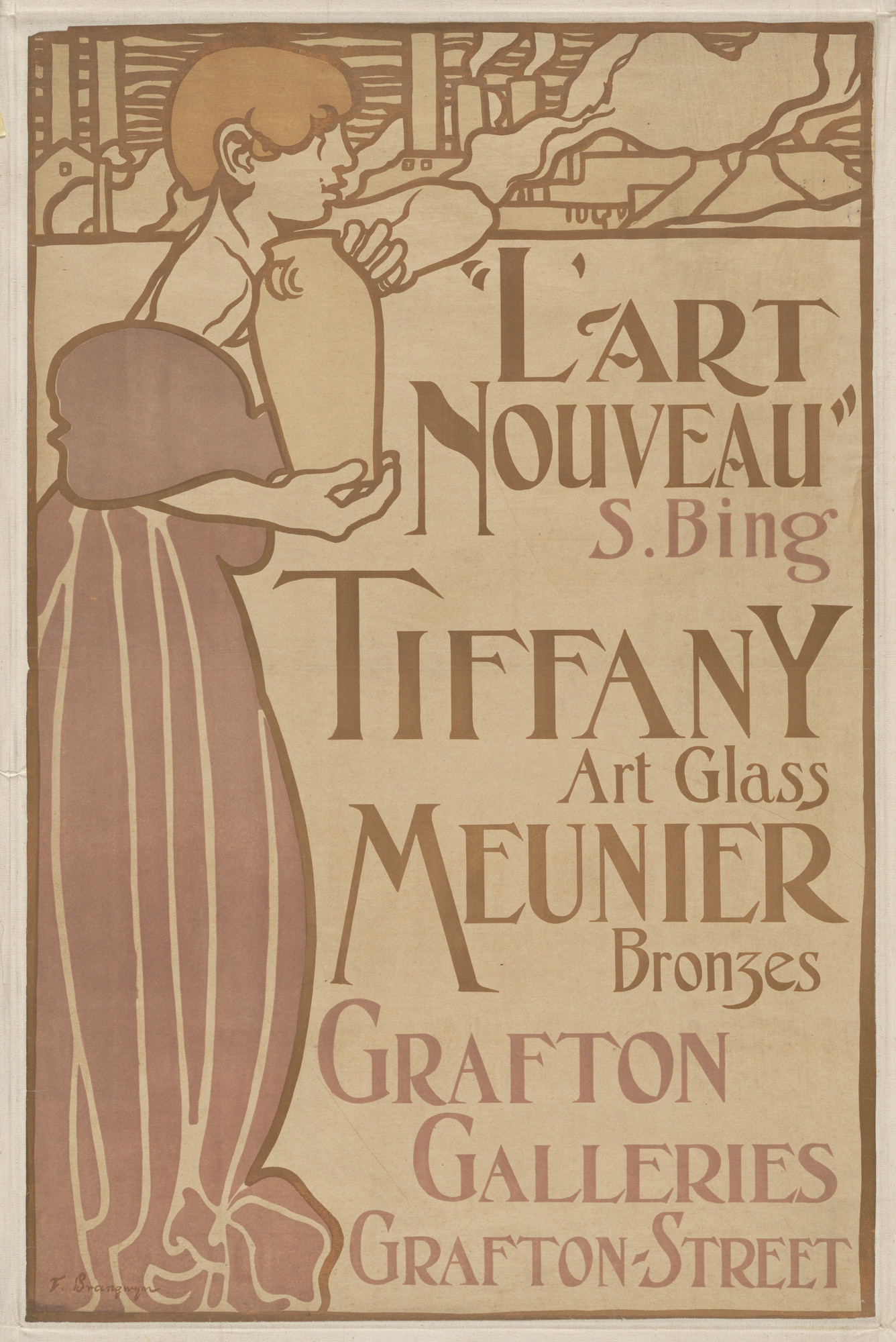 Frank Brangwyn. L'Art Nouveau, Grafton Galleries. 1898