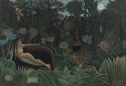 Henri Rousseau. The Dream. 1910
