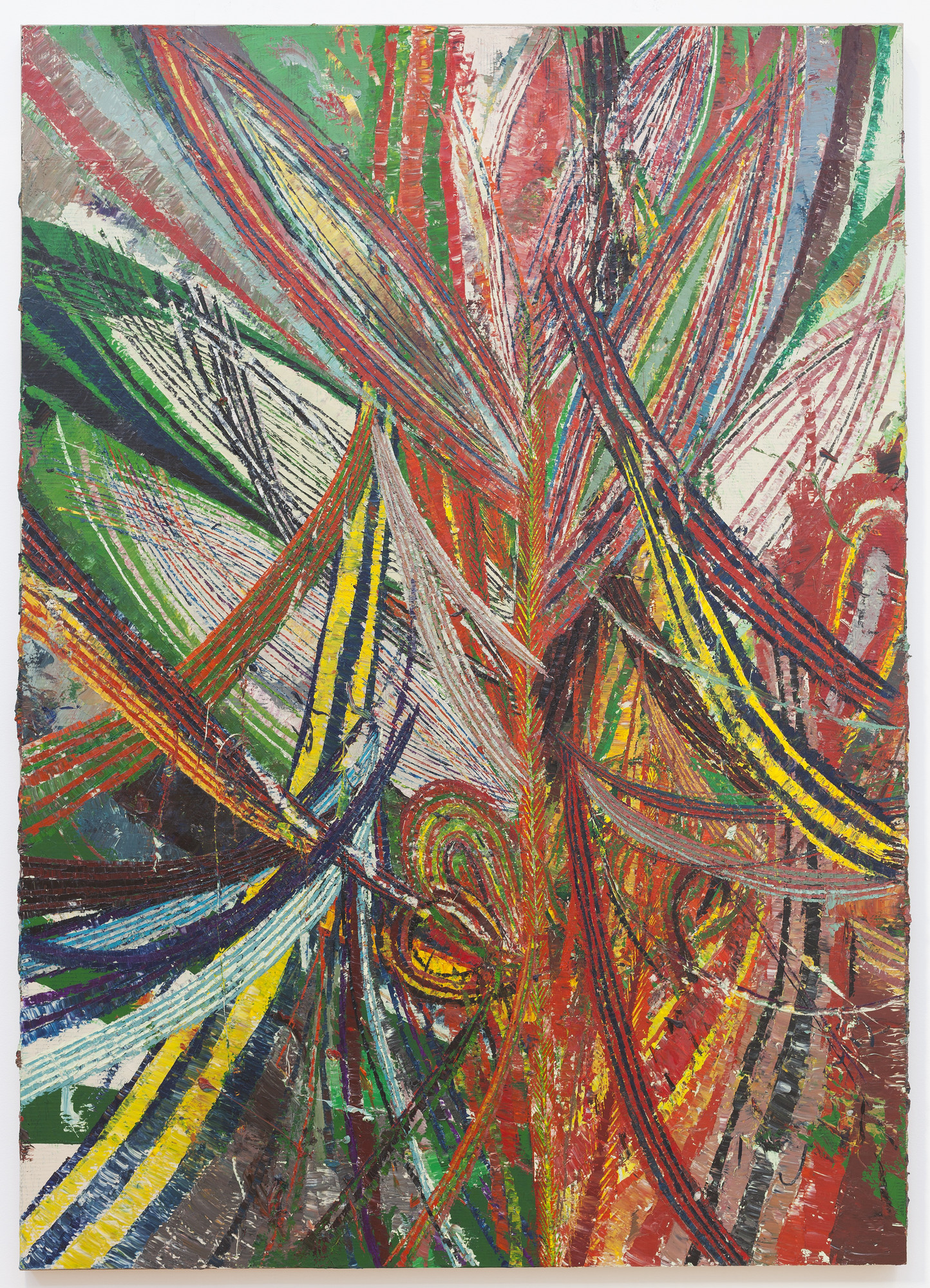 Mark Grotjahn. Untitled (Circus No. 3 Face 44.20). 2013
