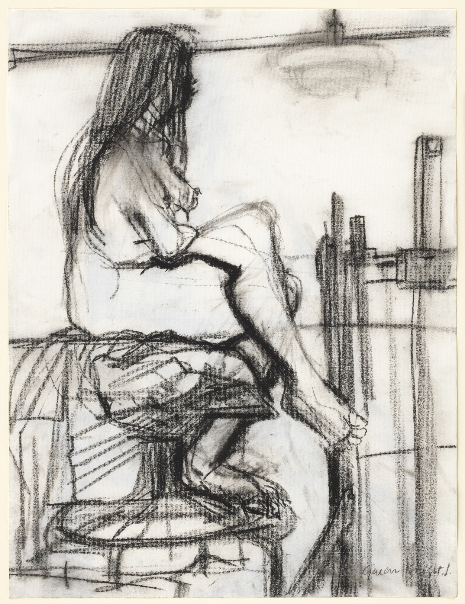 Gwen Knight. Figure Study No. 3. (1975)