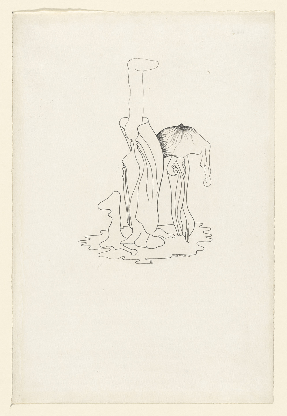 Yves Tanguy. Untitled. 1934