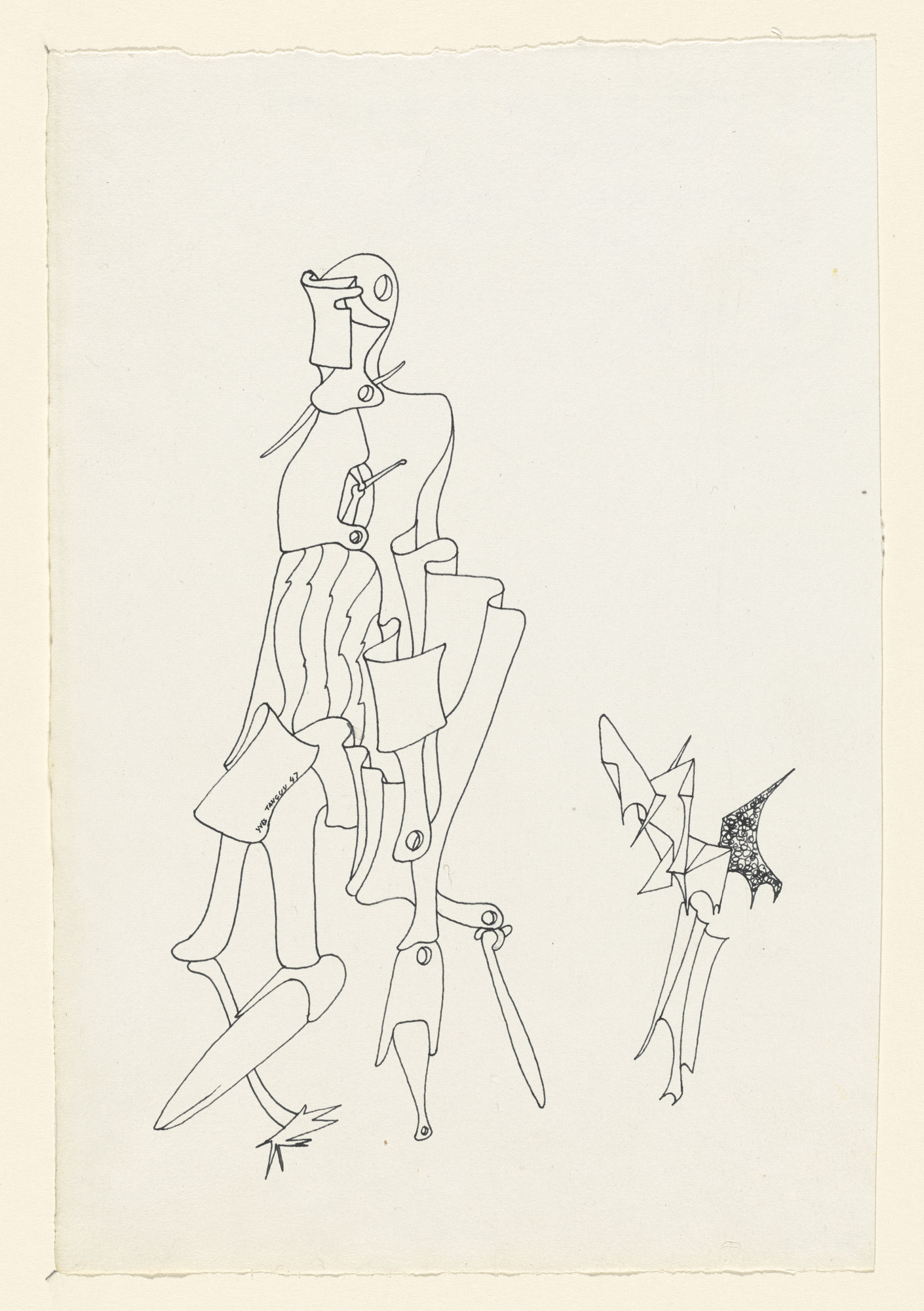 Yves Tanguy. Untitled. 1947