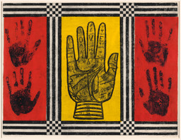 Betye Saar. Palm of Love. 1966
