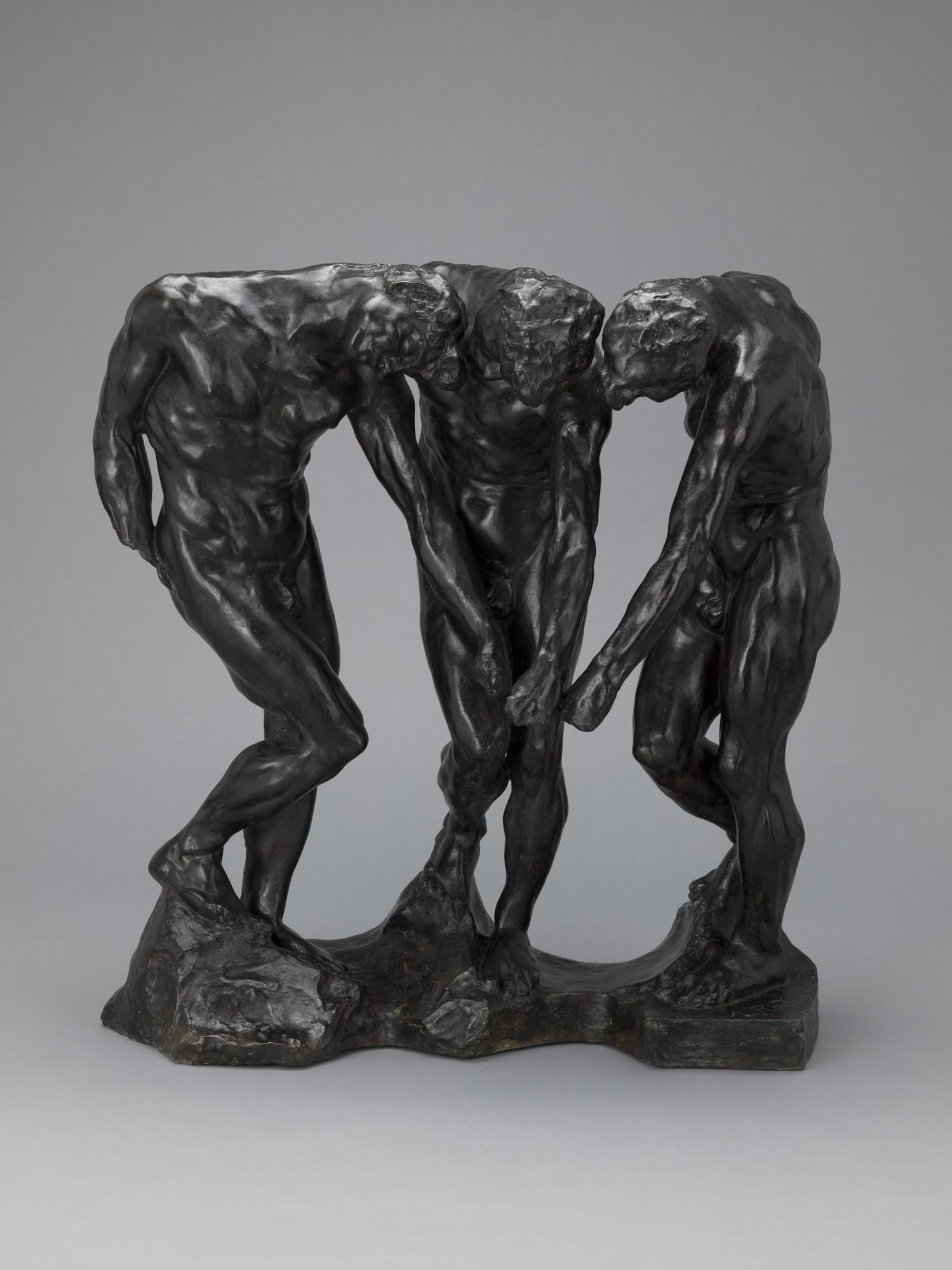 Auguste Rodin The Three Shades 1881 86