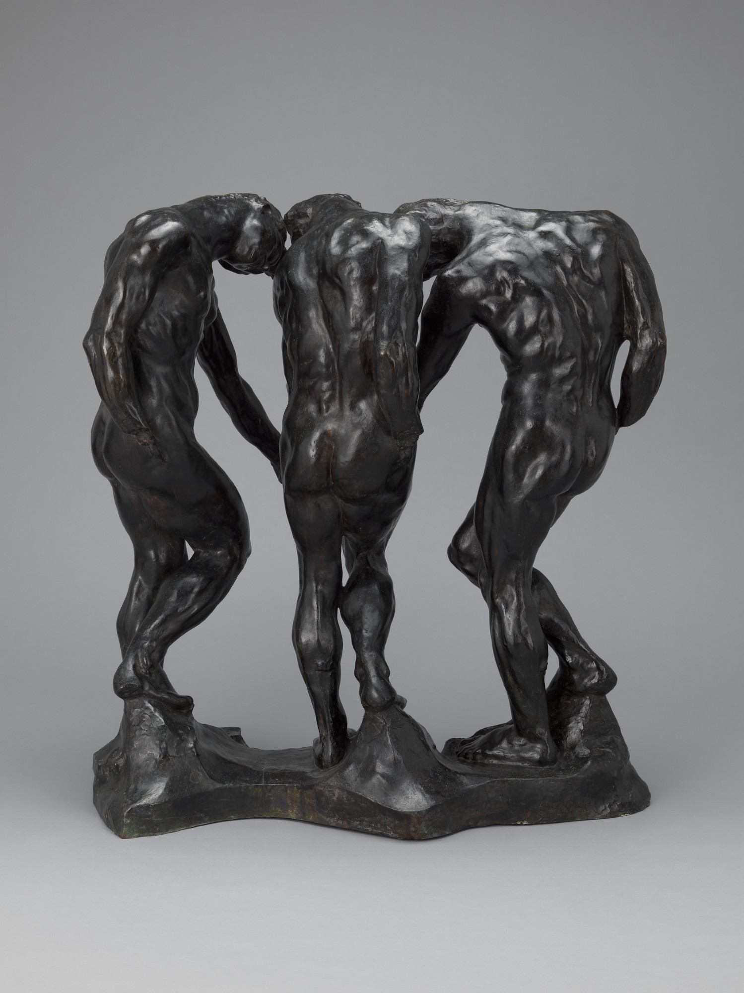 Auguste Rodin. The Three Shades. 1881-86