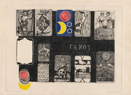 Betye Saar. House of Tarot. 1966