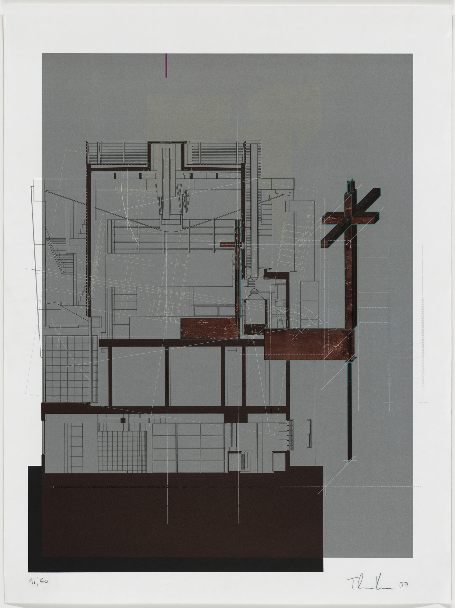 Thom Mayne, Andrew Zago. Sixth Street House project, Santa Monica, California, Sixth Street: Figure 2. 1987
