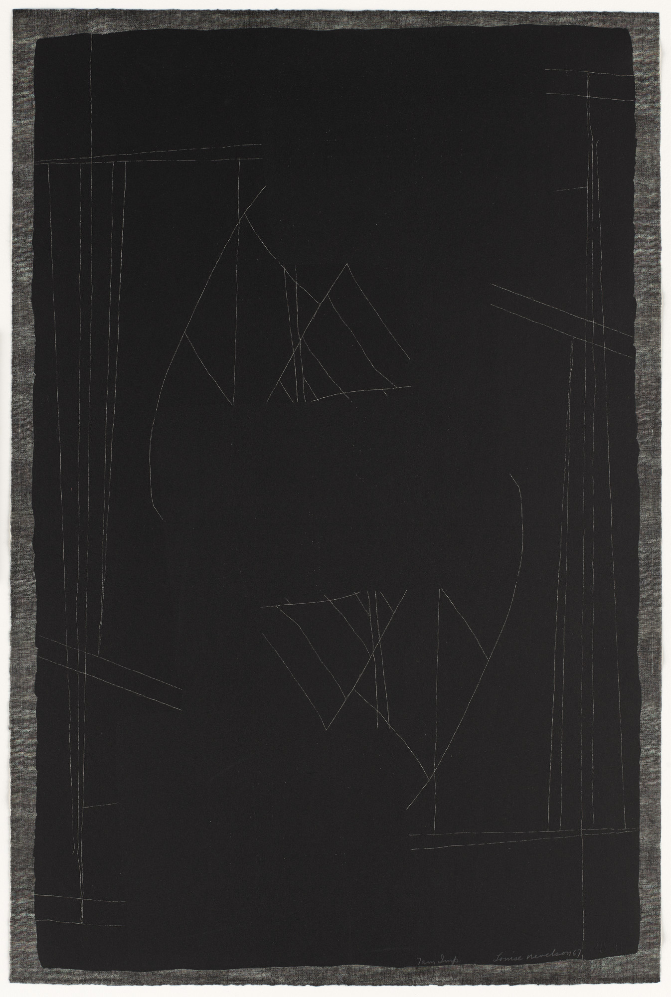 Louise Nevelson. Untitled. 1967
