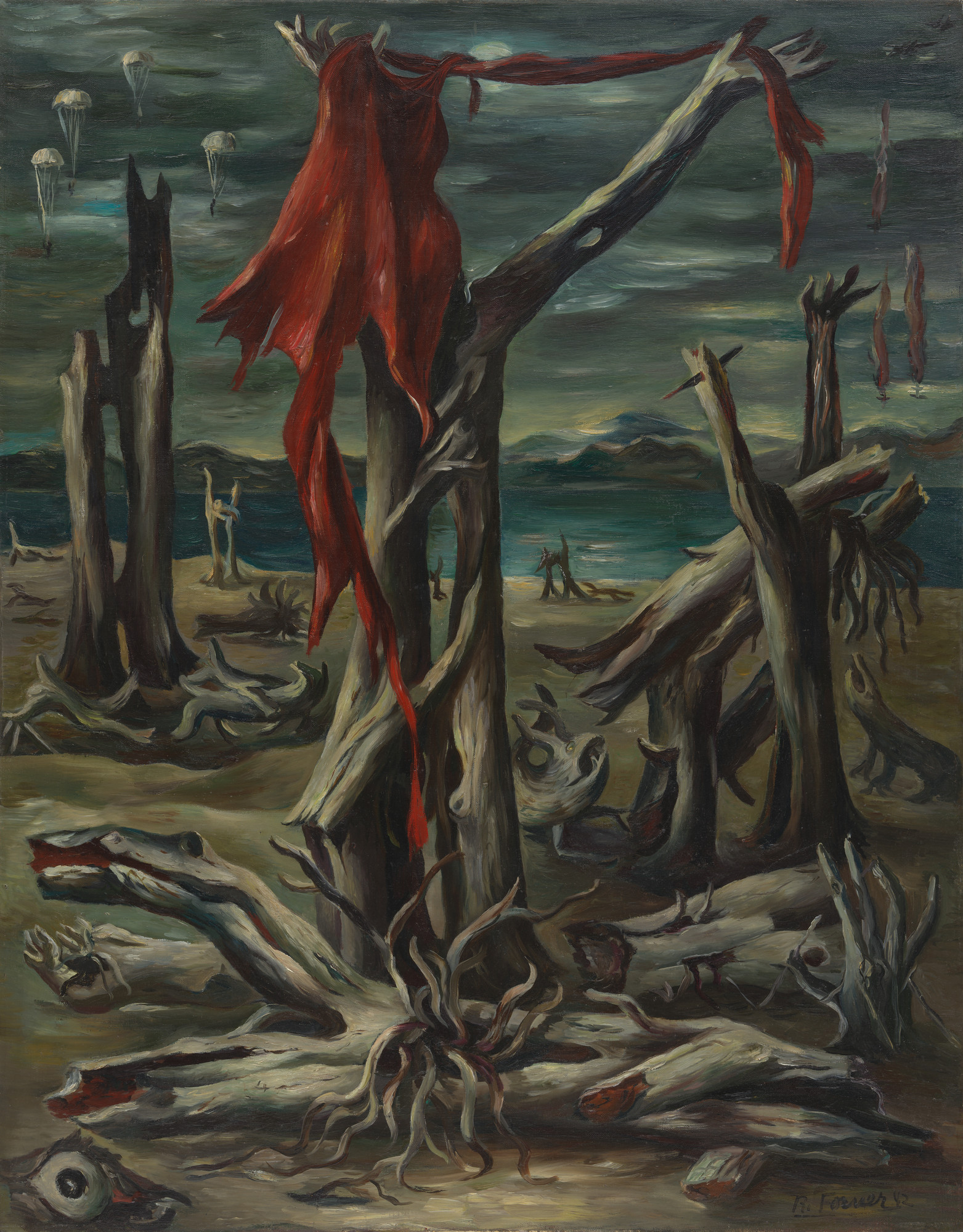 Raquel Forner. Desolation. 1942