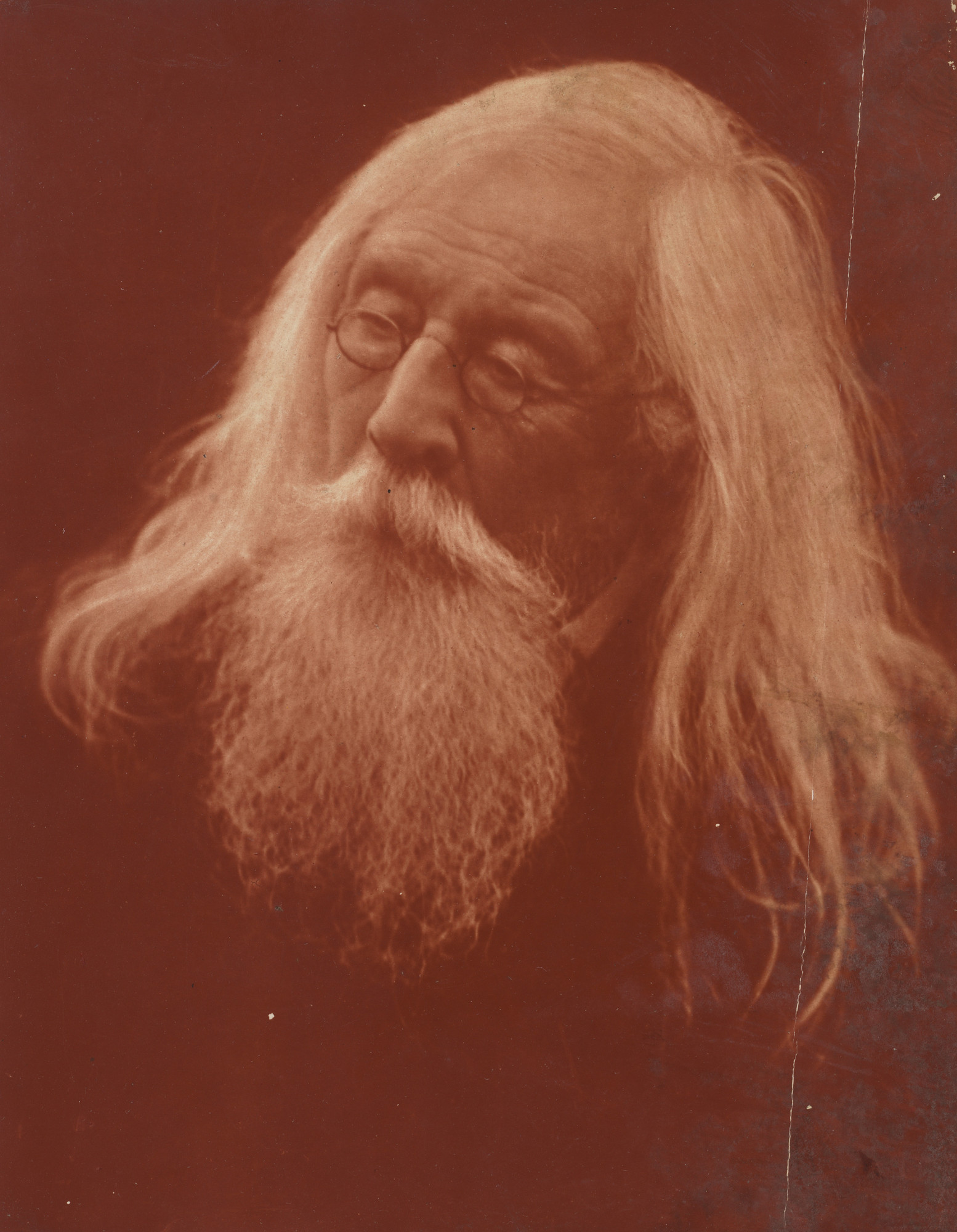 Julia Margaret Cameron. Portrait of Mr. Charles Hay Cameron. September 1871