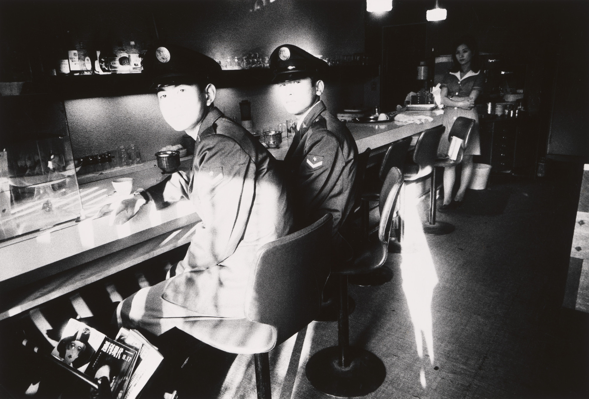 Daido Moriyama. Soldiers, Hamamatsu. 1968 | MoMA