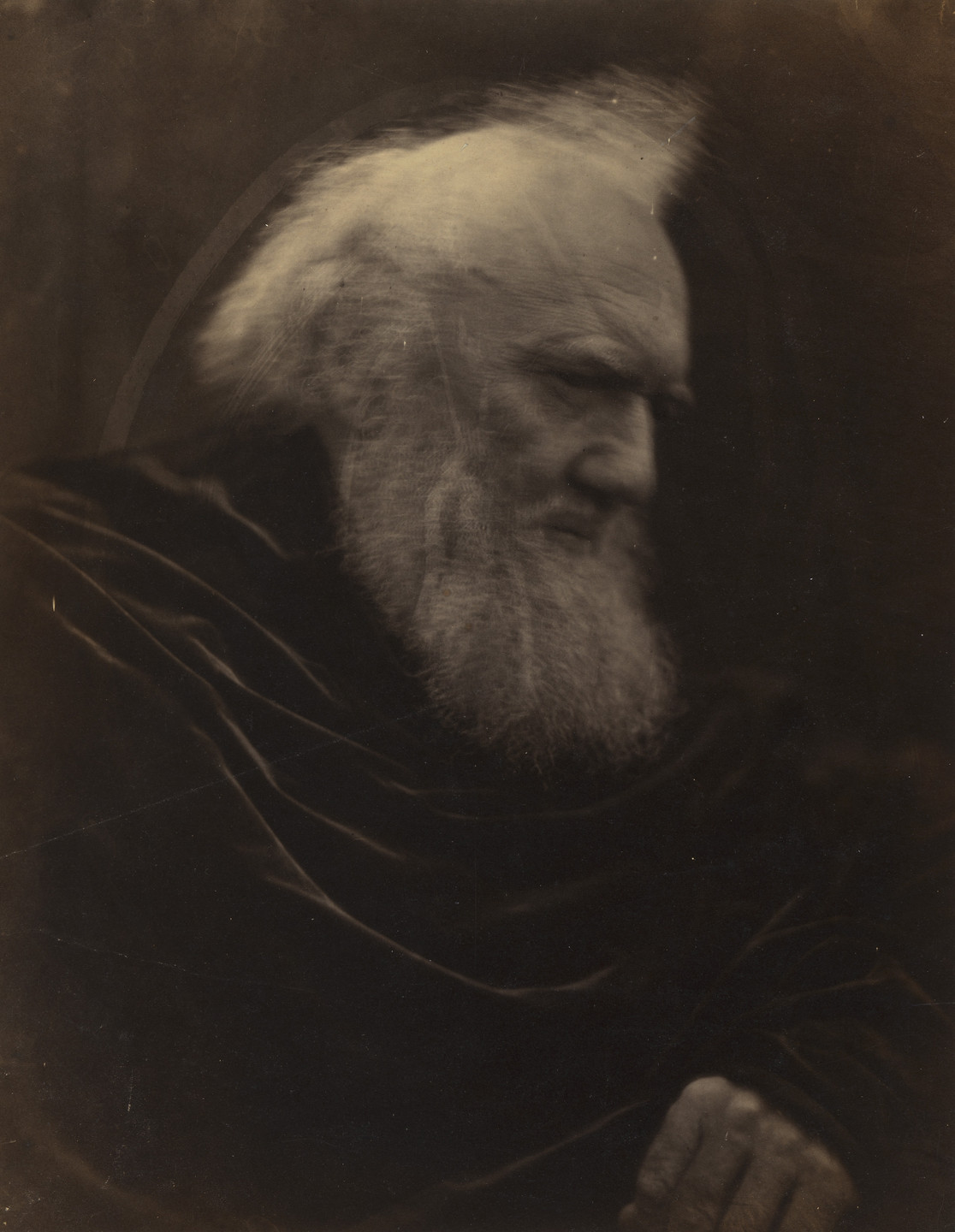 Julia Margaret Cameron. Portrait of H. T. Prinsep. 1866