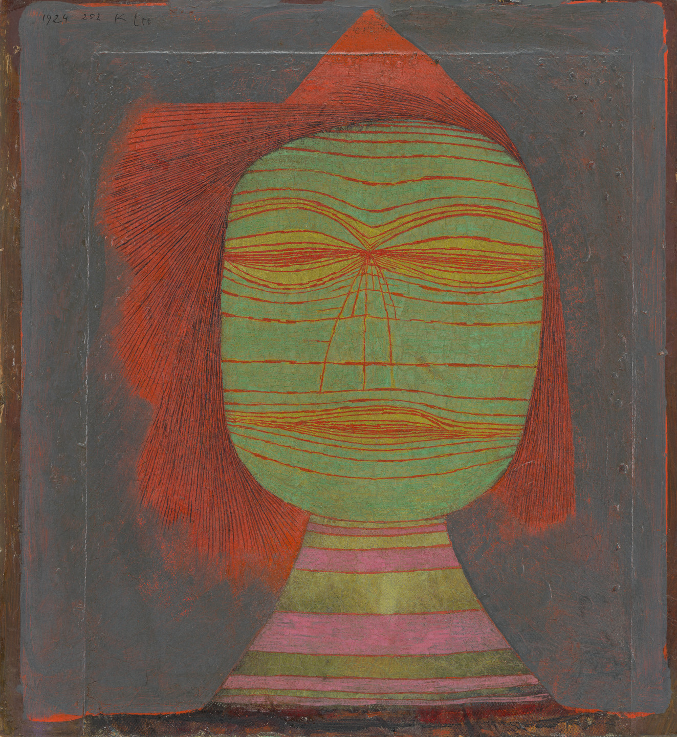 Paul Klee. Actor's Mask. 1924